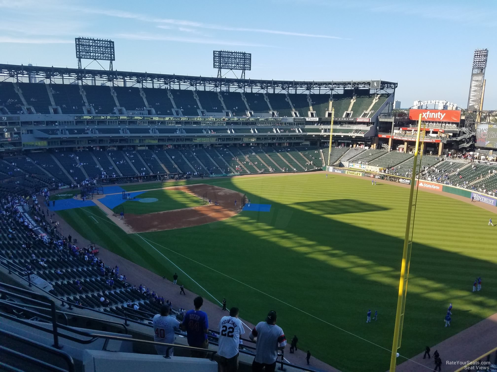 Guaranteed Rate Field Section 509 - RateYourSeats.com