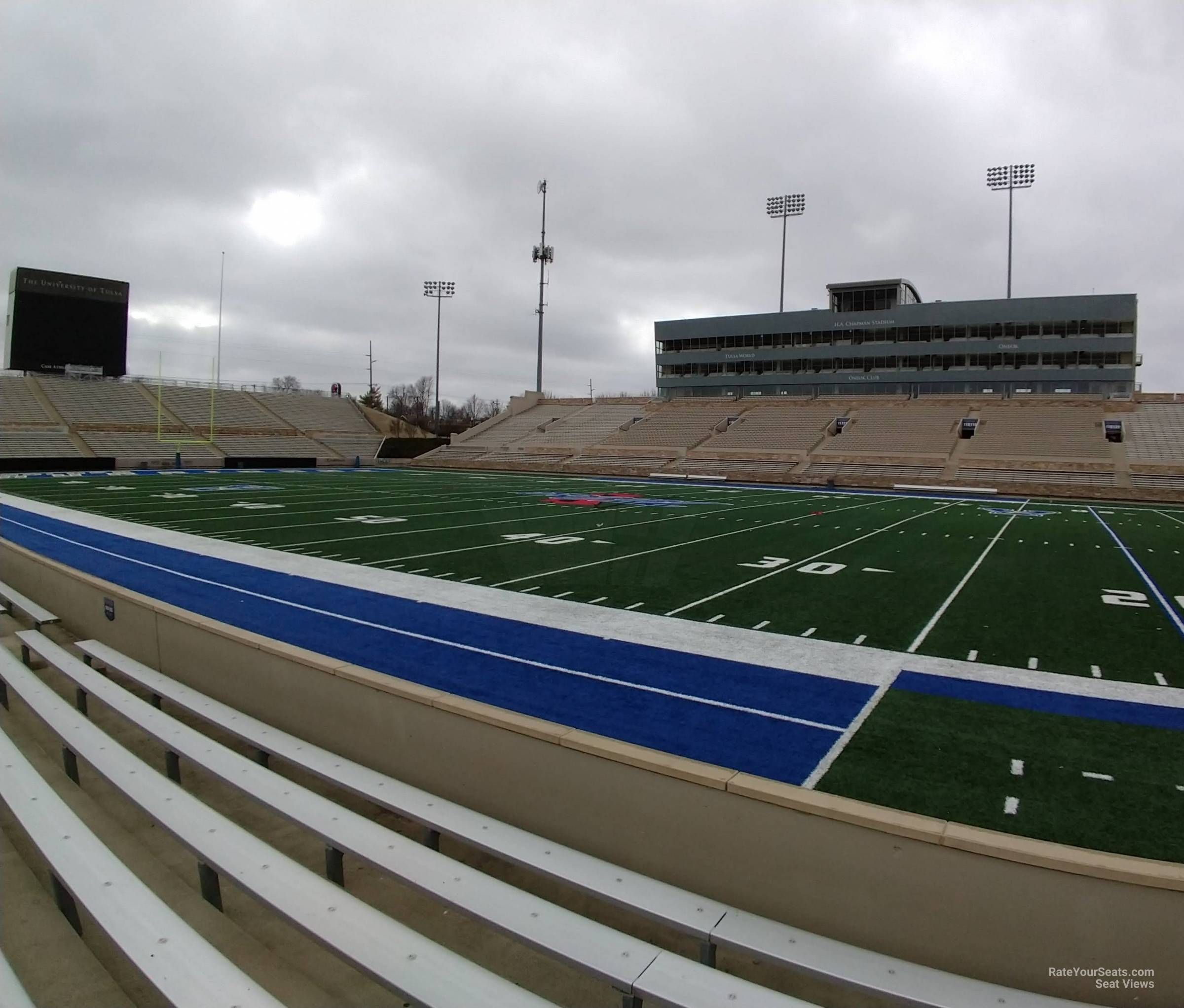 Seat View for H.A. Chapman Stadium Section 103, Row 5