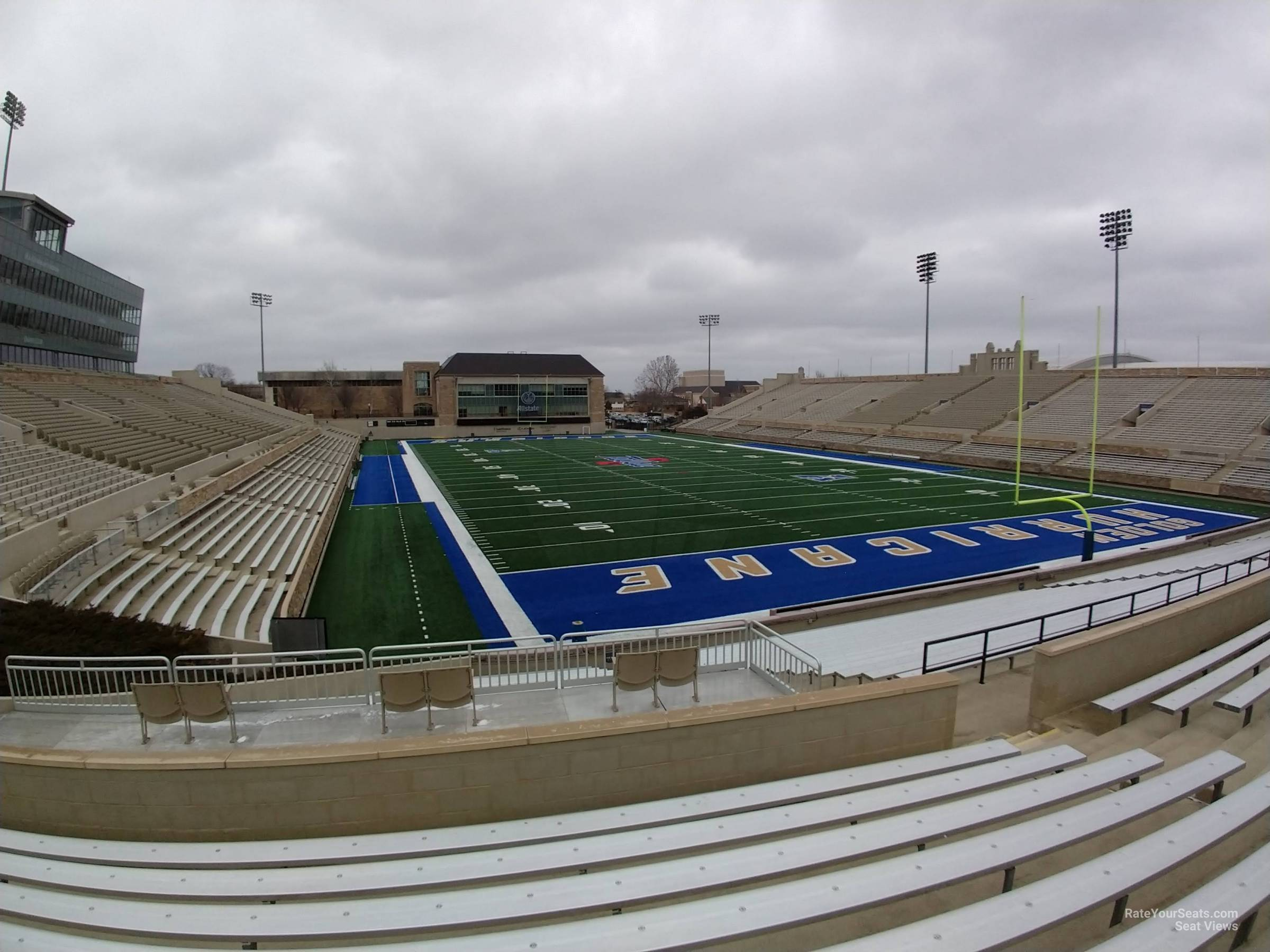 Seat View for H.A. Chapman Stadium Section 113, Row 19
