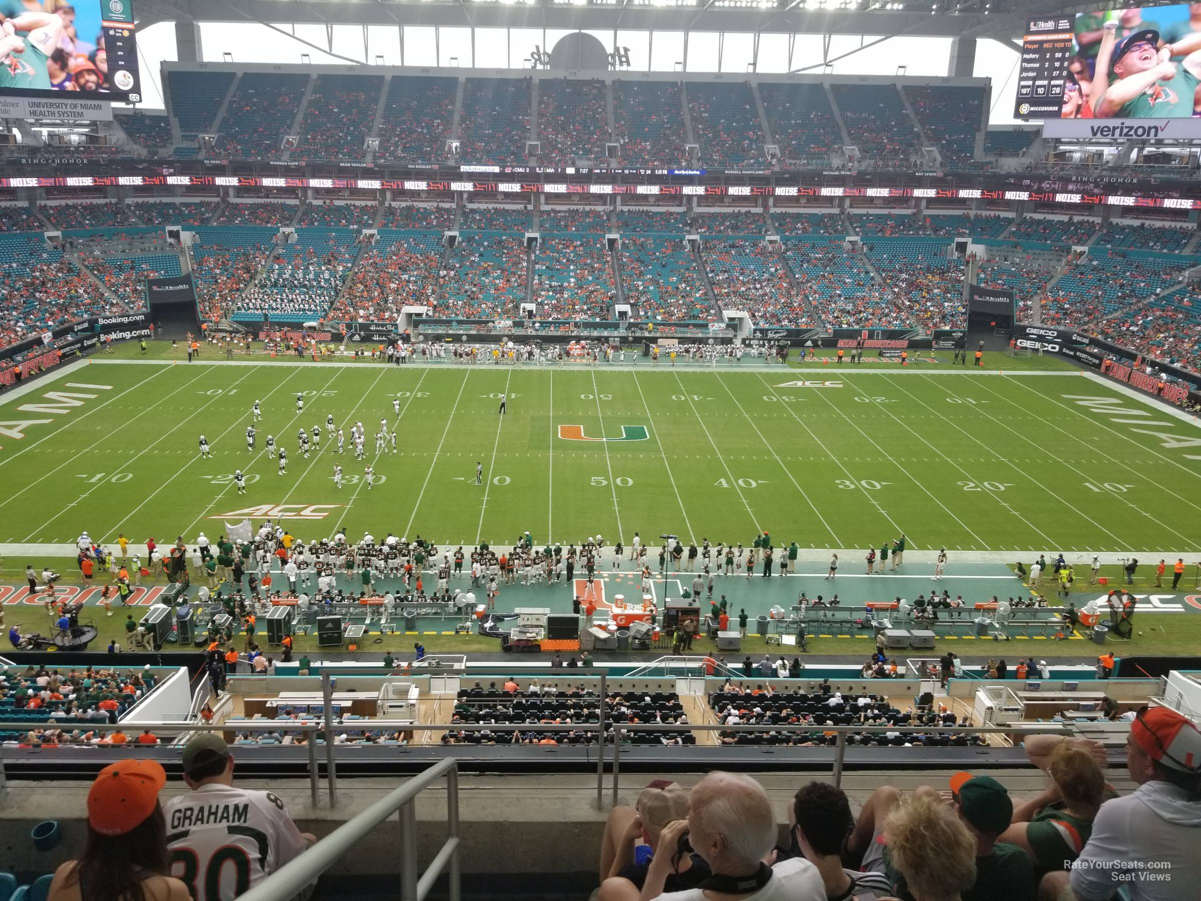 Section 346 seat view