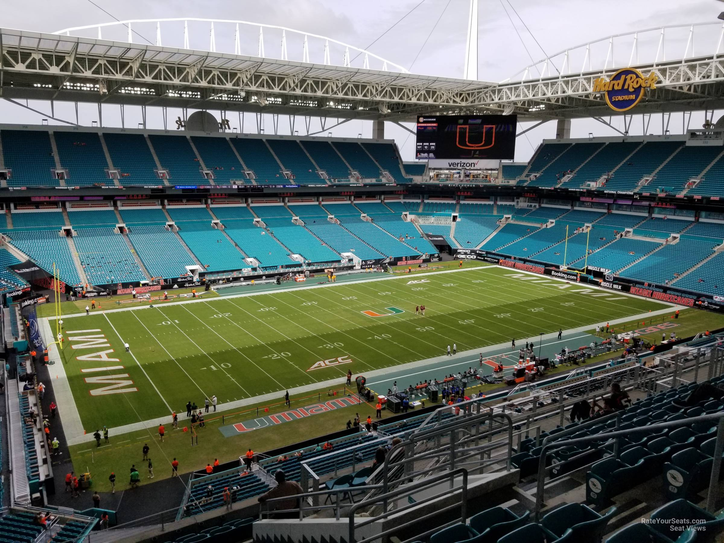 Hard Rock Stadium Section 351 - Miami Dolphins ...