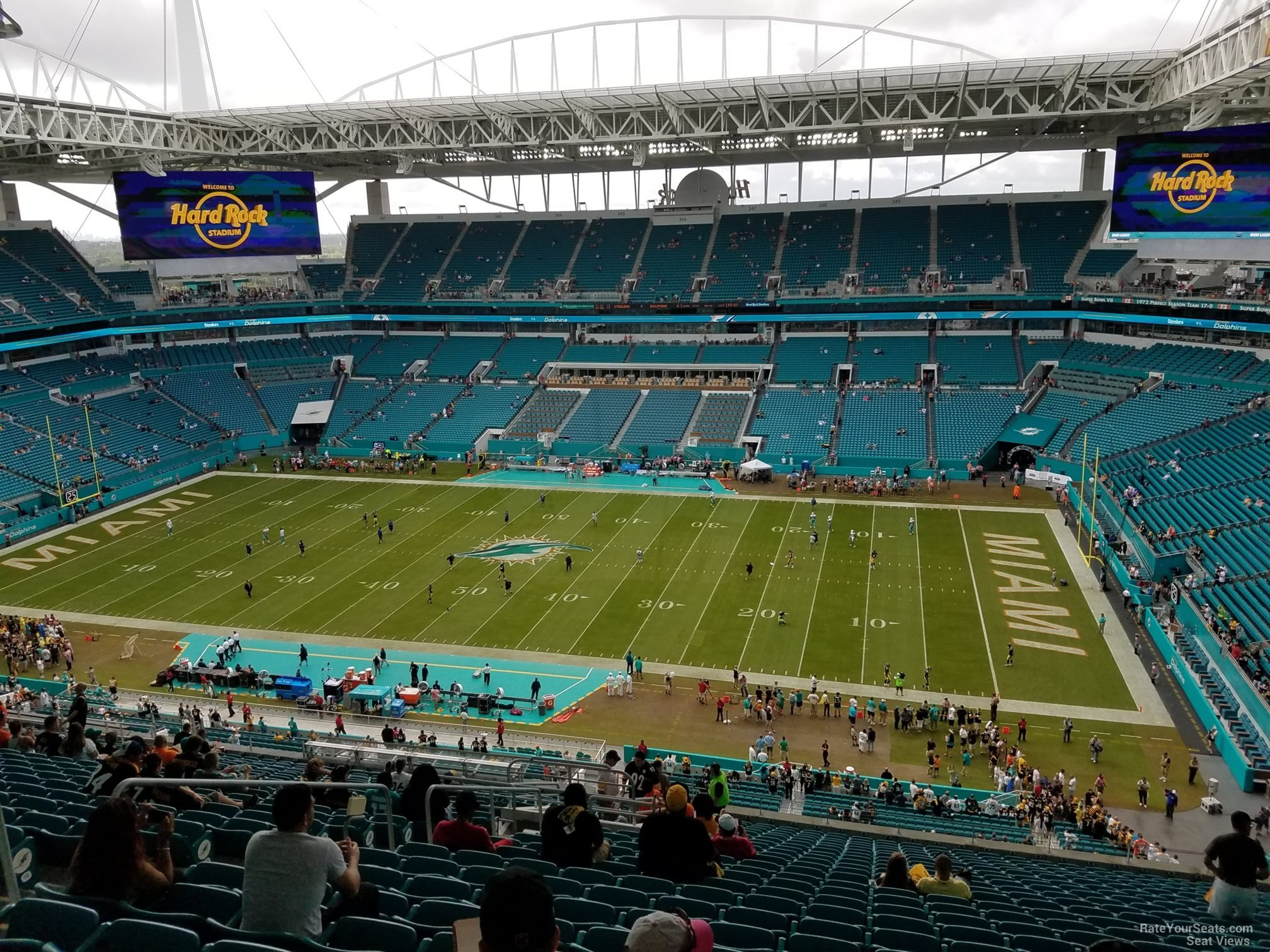 hard rock stadium section 315 - miami dolphins