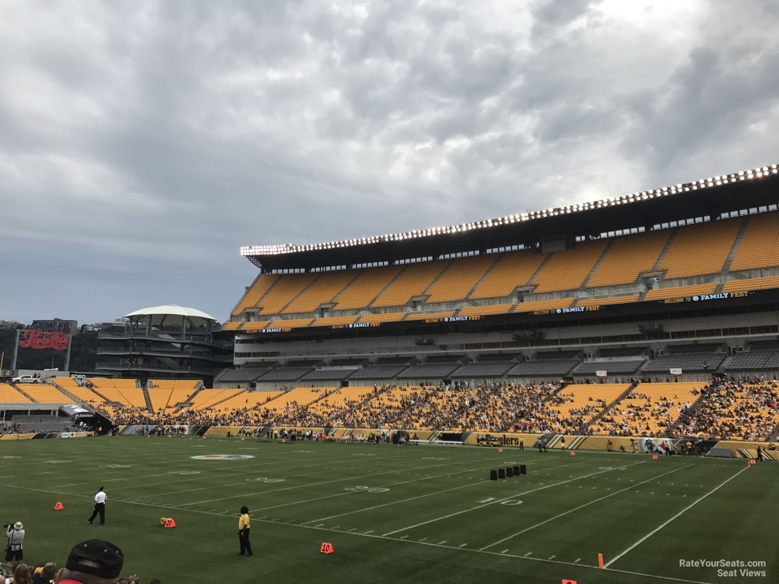 Heinz Field Section 115 - RateYourSeats.com