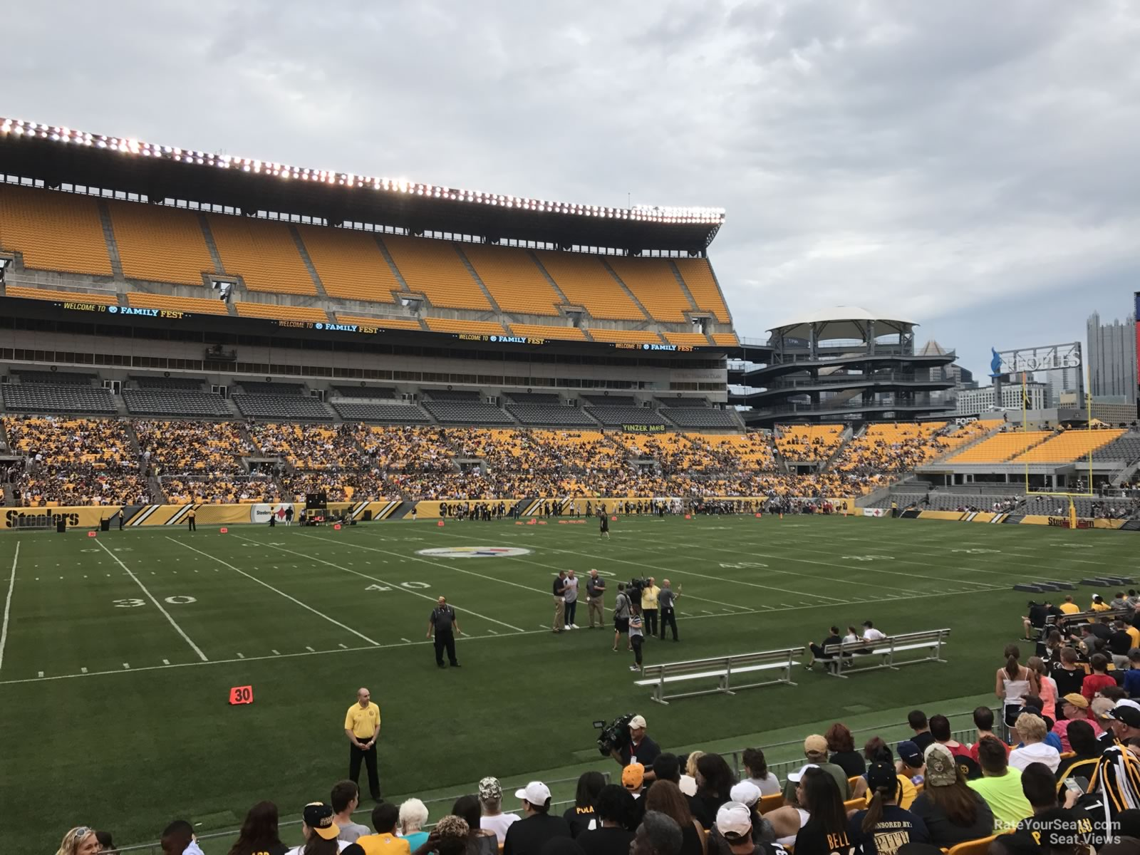Seat View for Heinz Field Section 133, Row L
