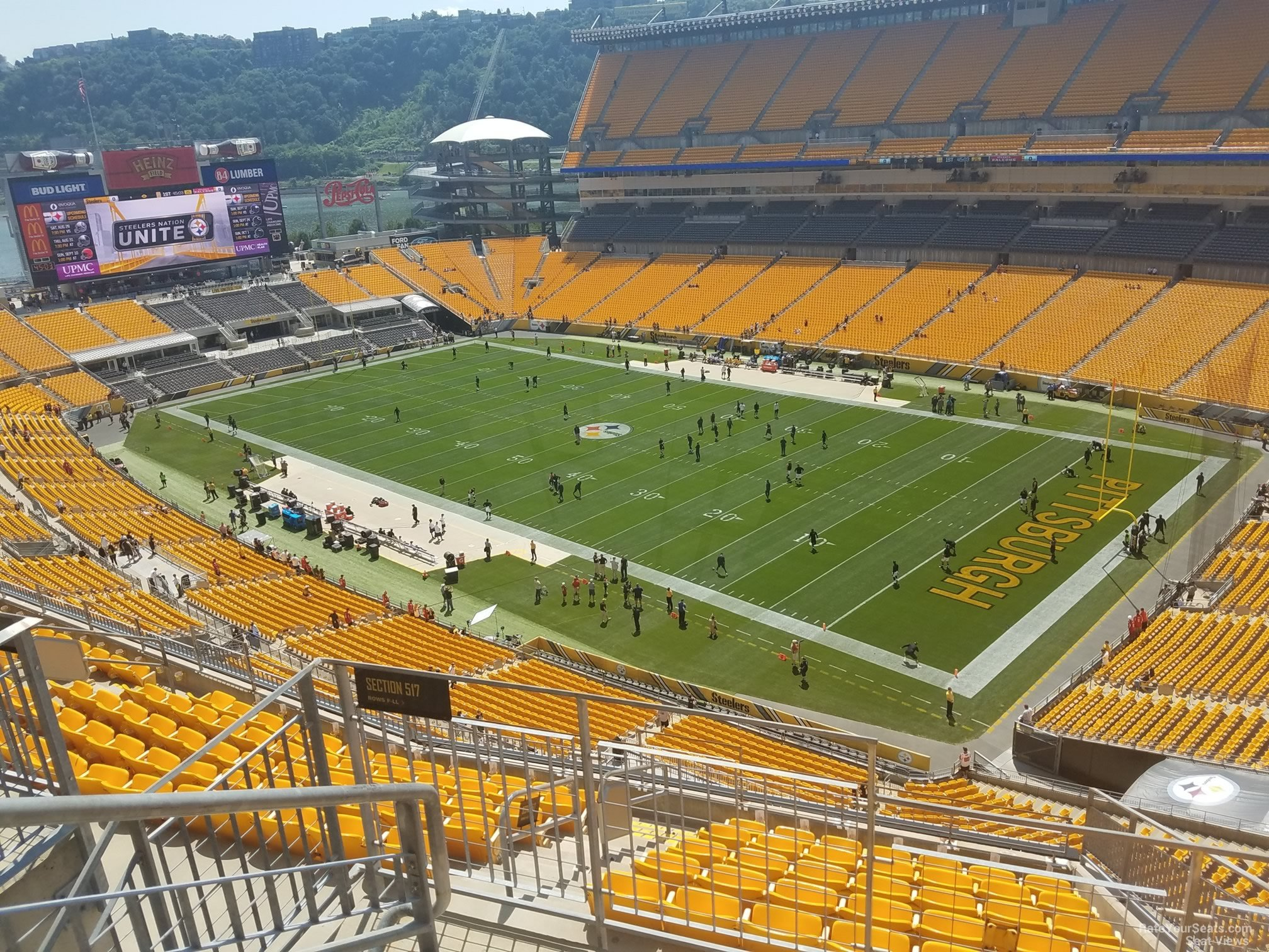 Heinz Field Section 517 - RateYourSeats.com