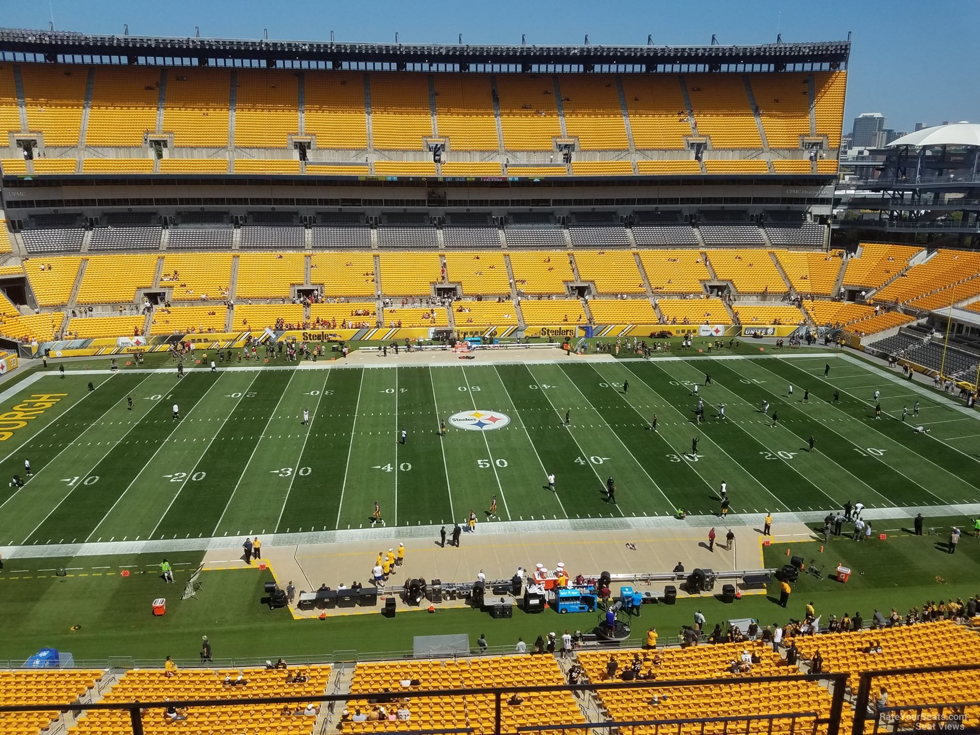 Heinz Field Section 534