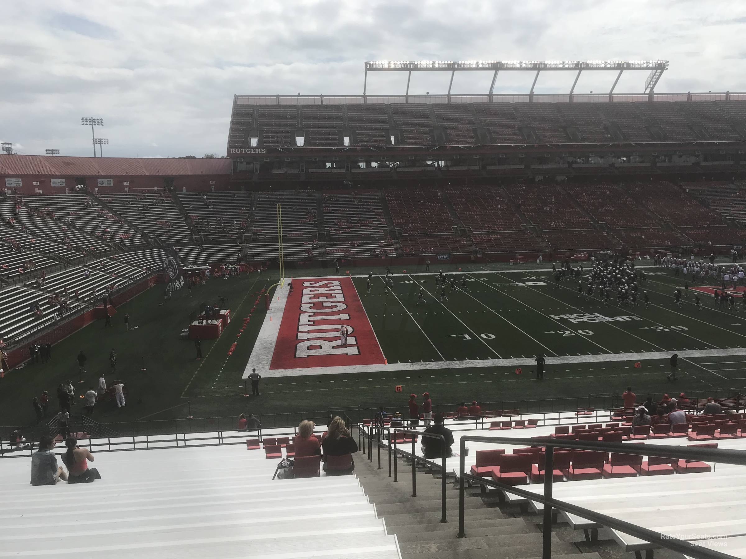 Seat View for High Point Solutions Stadium Section 109, Row 40