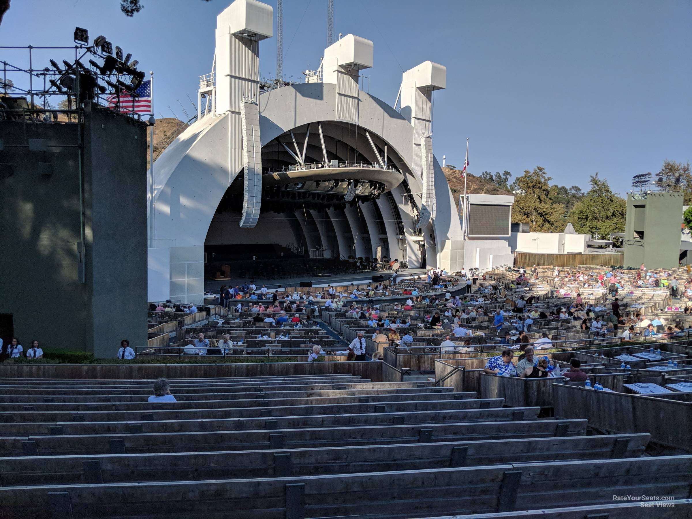 Hollywood Bowl Section E Rateyourseats Com