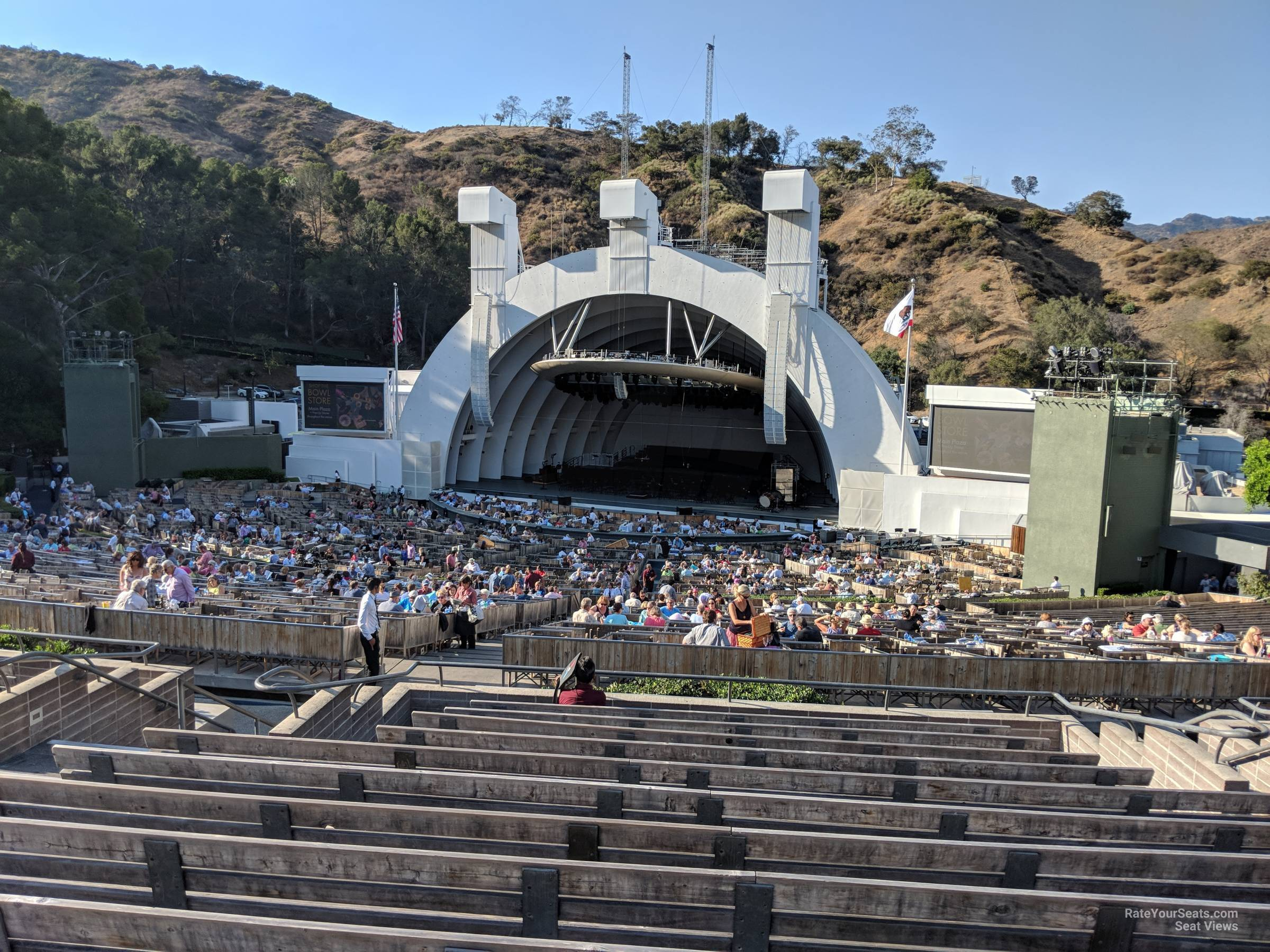 Hollywood Bowl Concerts >> Hollywood Bowl Section F1 Rateyourseats Com