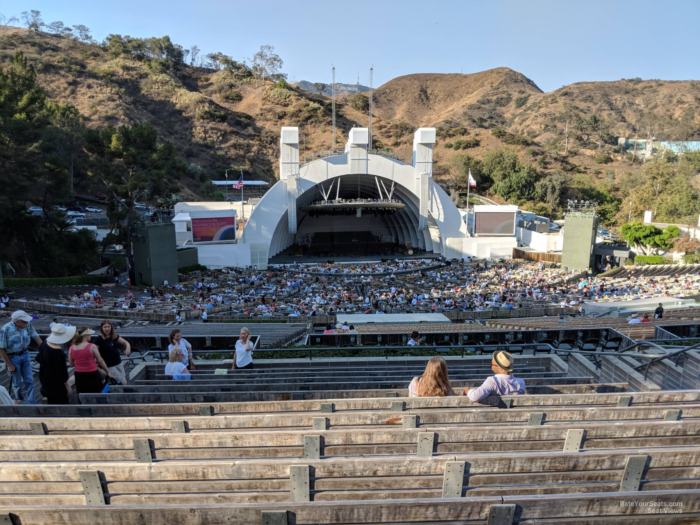 The Hollywood Bowl >> Hollywood Bowl Section N2 Rateyourseats Com