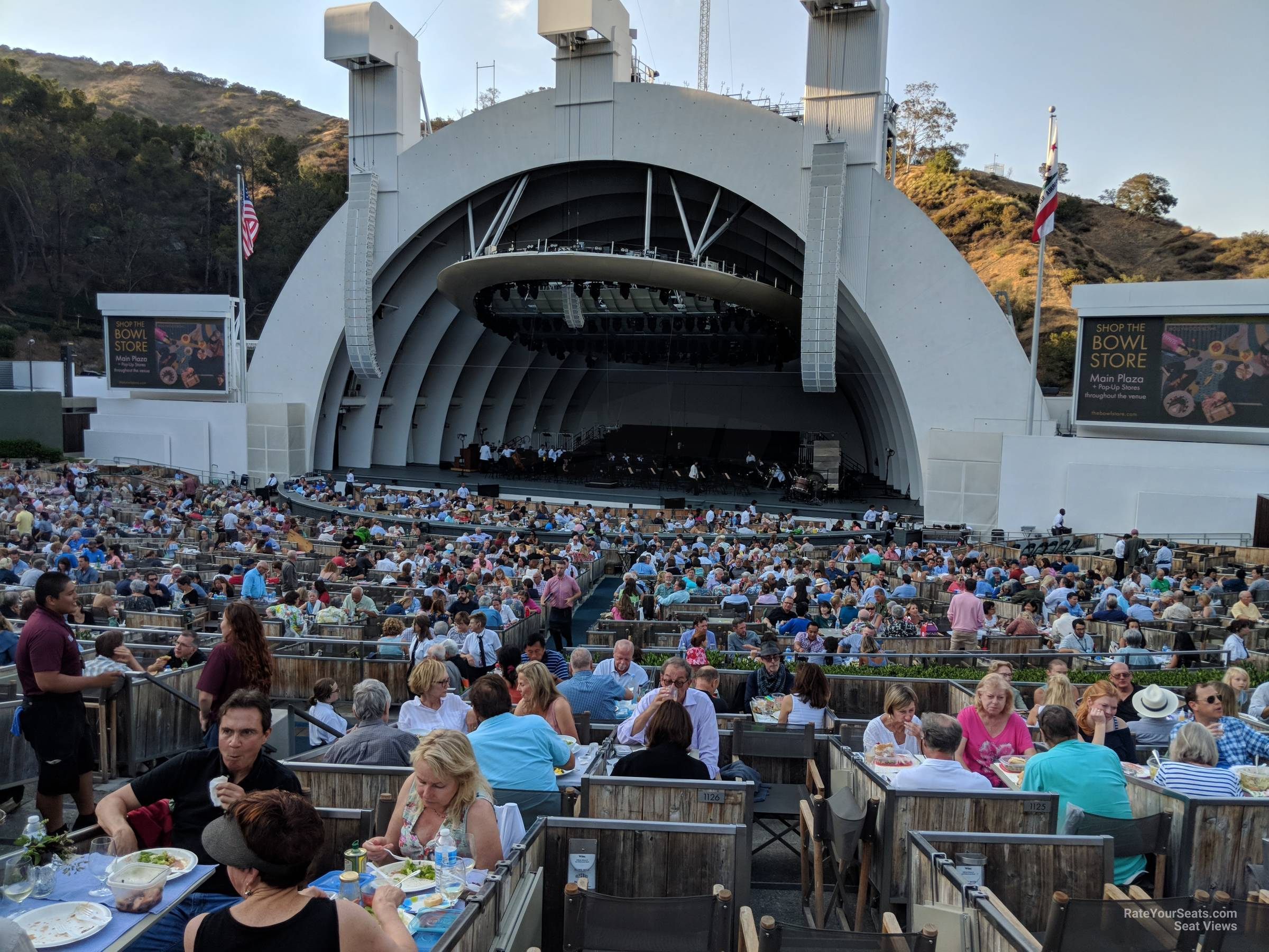 Hollywood Bowl Concerts >> Hollywood Bowl Terrace 2 Rateyourseats Com
