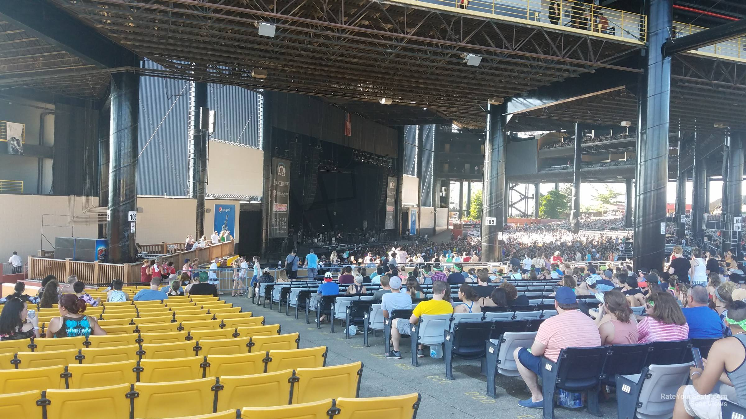 hollywood casino amphitheatre tinley park il section 208 rh rateyourseats com