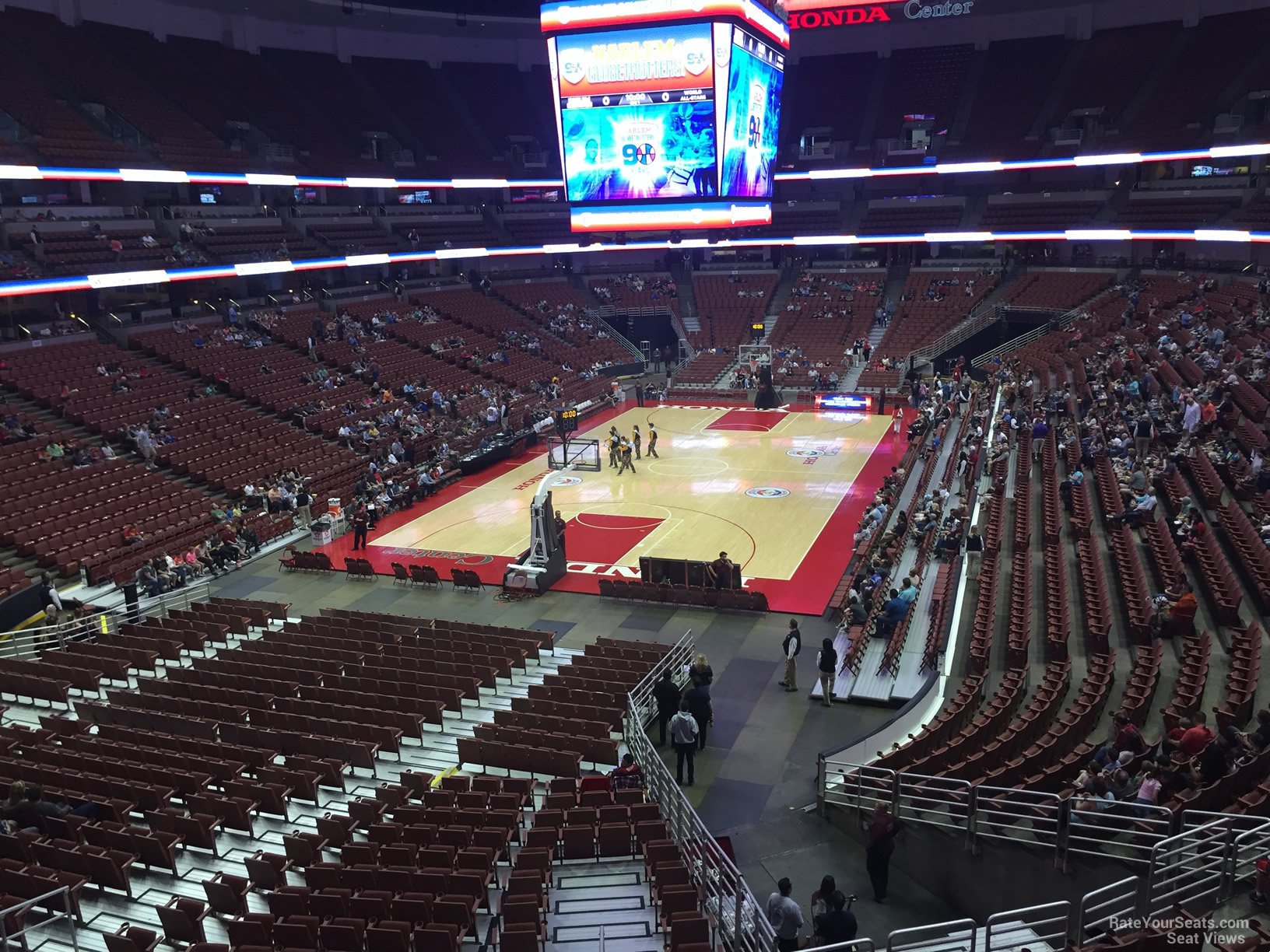 Superior Basketball Seat View For Honda Center Section 325, Row C