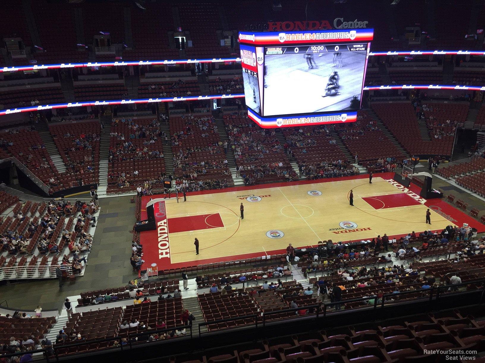 Honda Center Section 413 Basketball Seating Rateyourseats Com