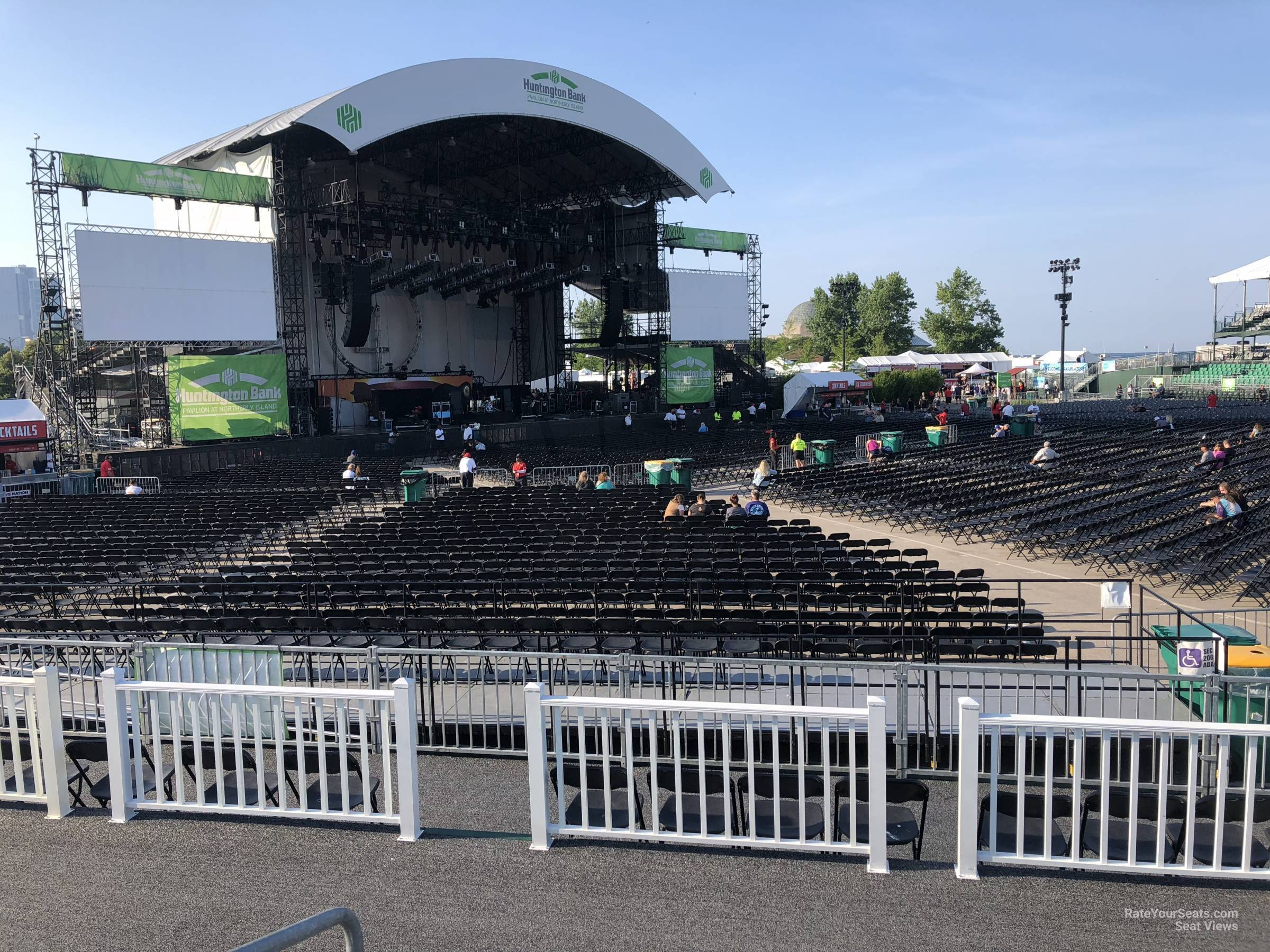 Concert Seat View For Huntington Bank Pavilion Section 310