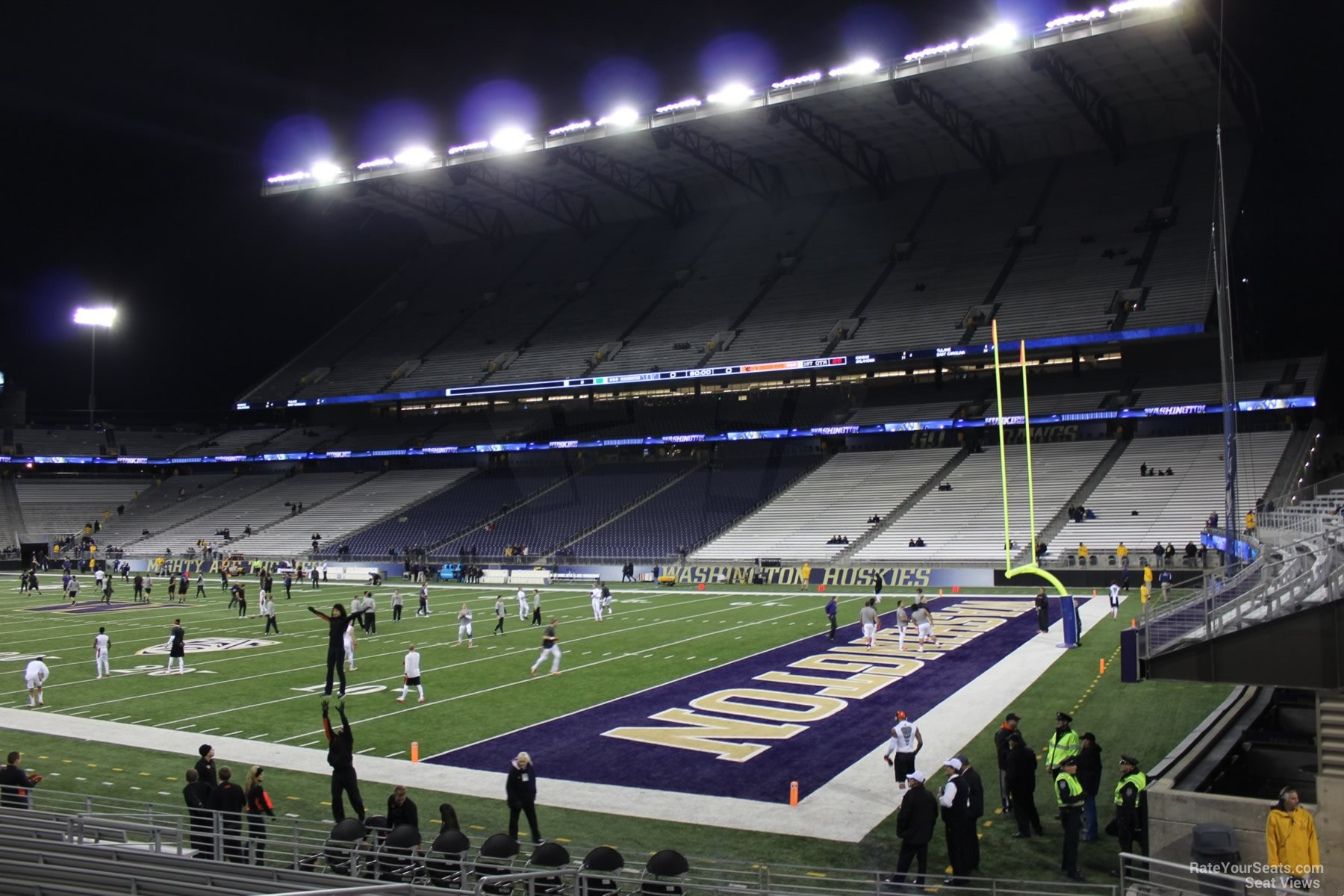 Seat View for Husky Stadium Section 101, Row 15
