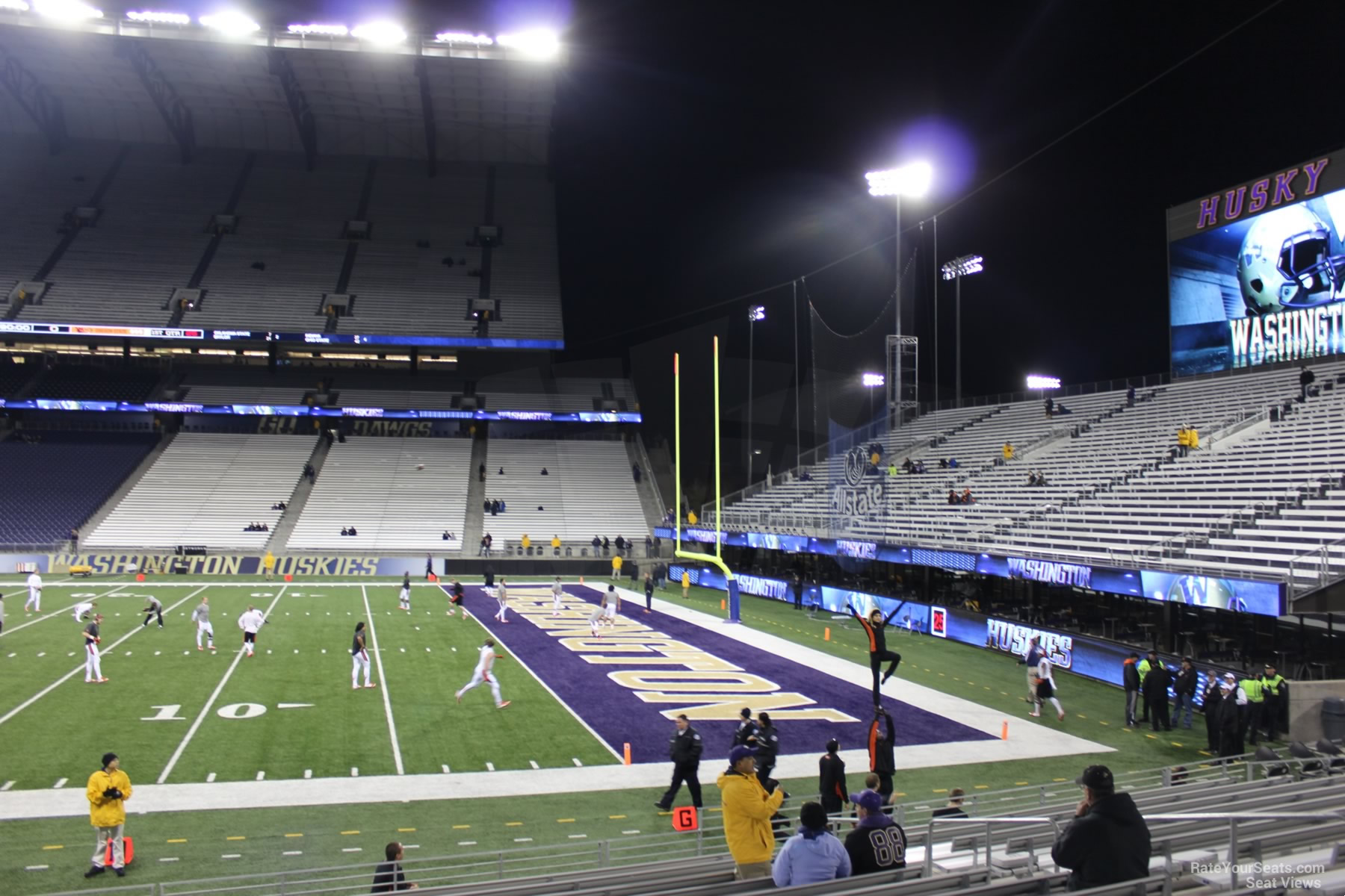 Husky Stadium Section 103 Rateyourseats Com