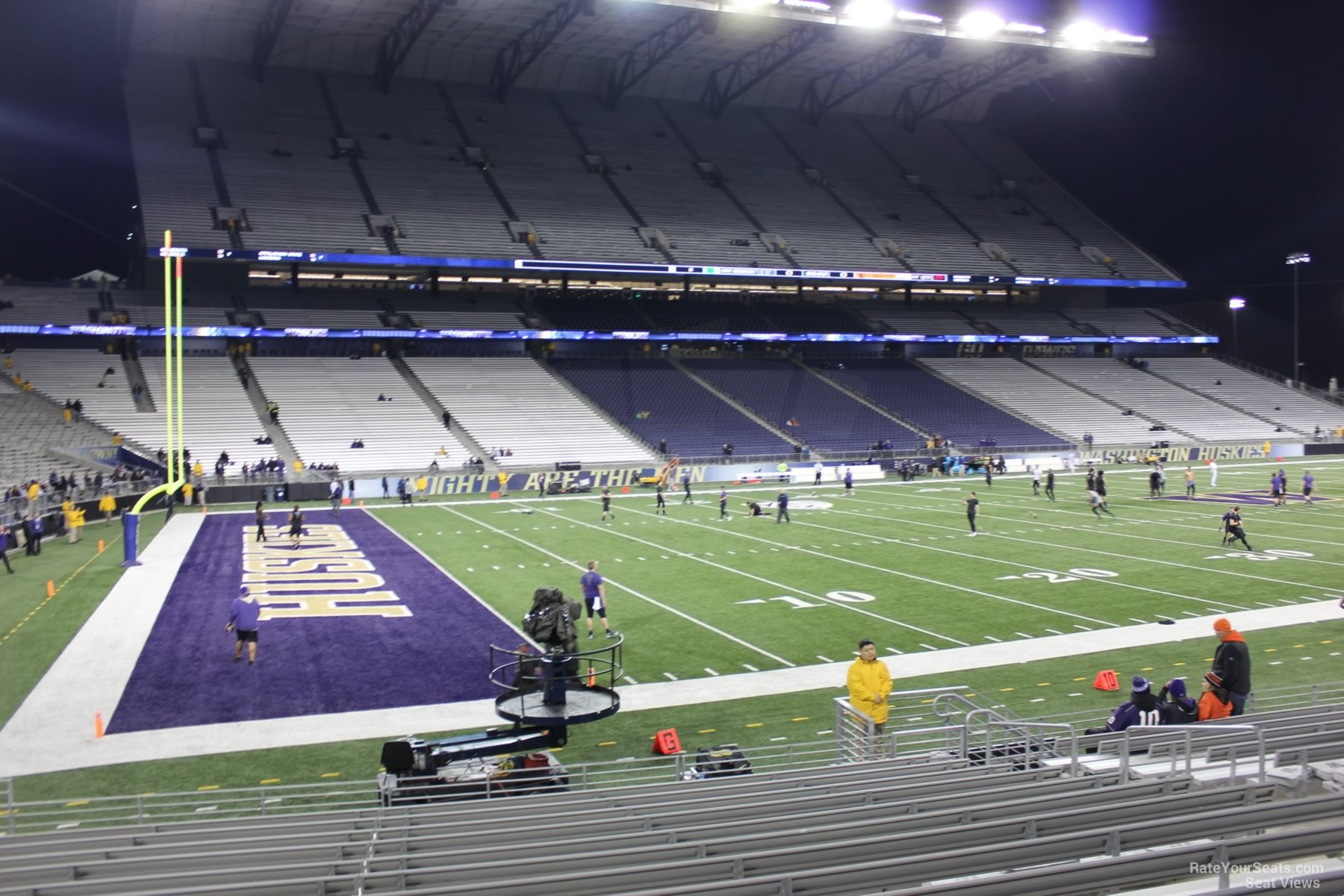 Seat View from Section 110 at Husky Stadium