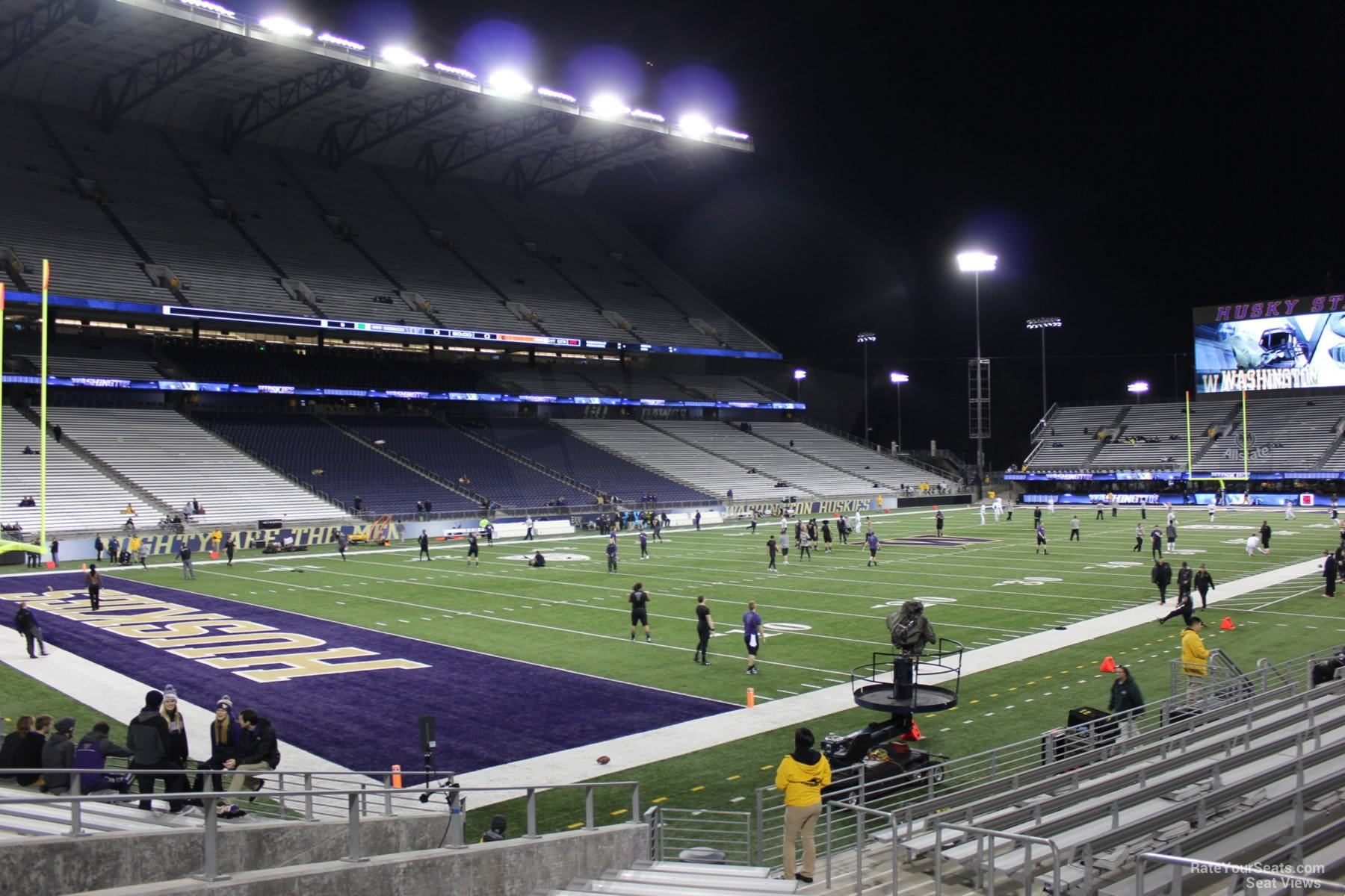 Seat View for Husky Stadium Section 114, Row 15