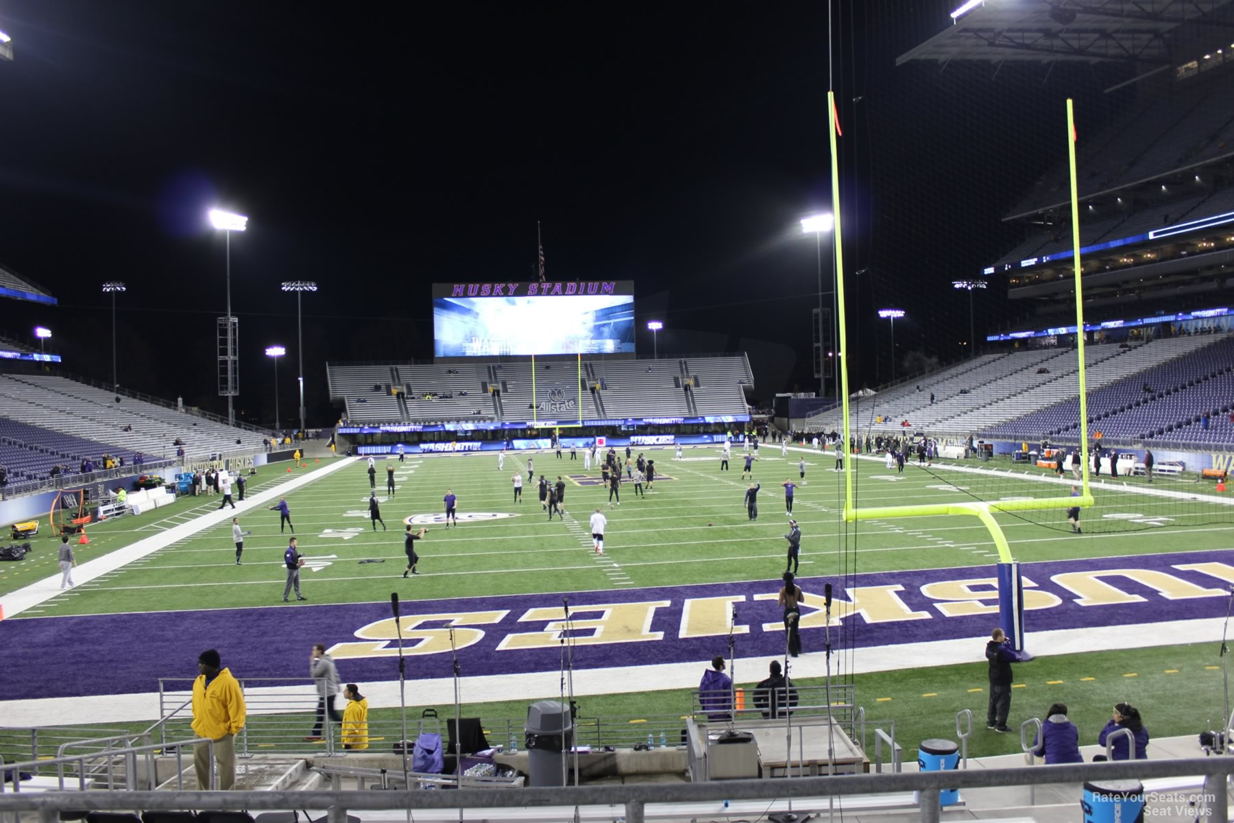 Seat View for Husky Stadium Section 119, Row 15