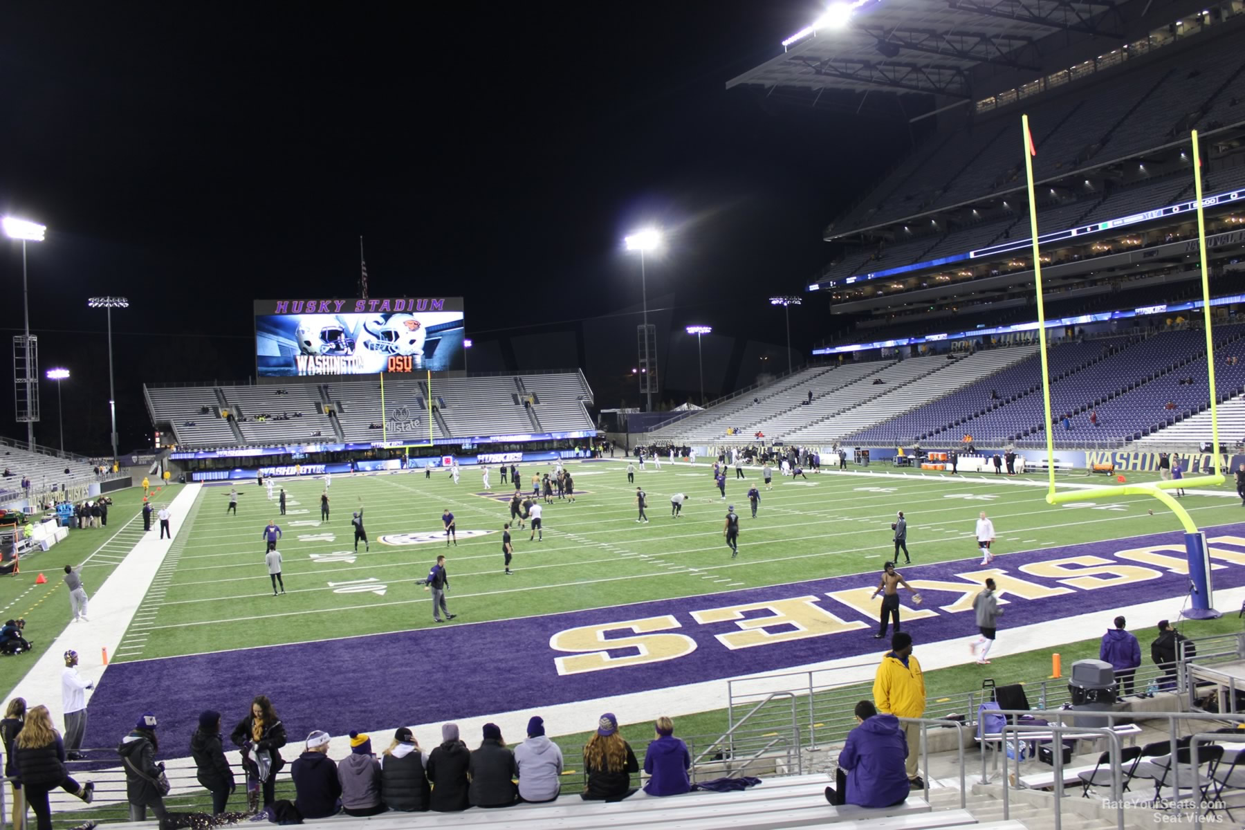 Seat View for Husky Stadium Section 120, Row 15