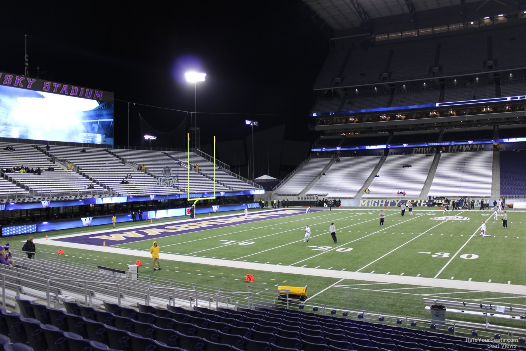 Seat View for Husky Stadium Section 130, Row 15