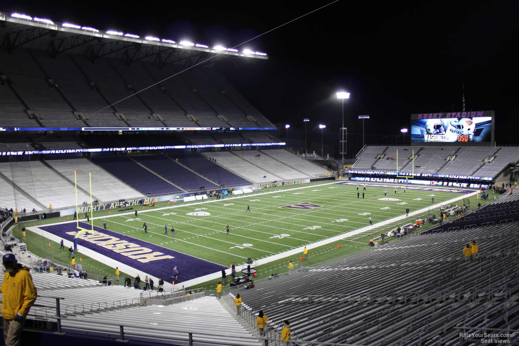 Seat View for Husky Stadium Section 213, Row 8