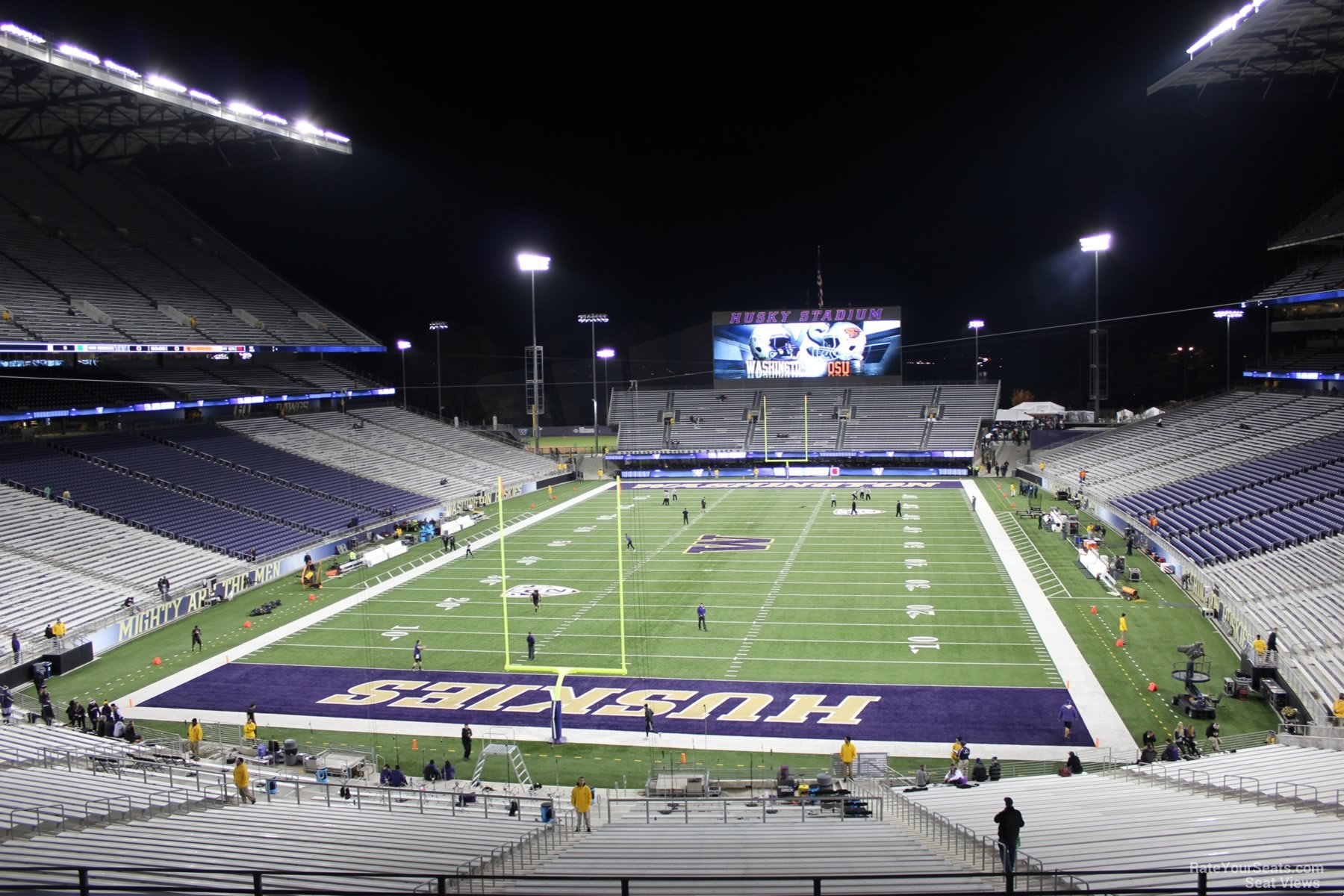 Seat View for Husky Stadium Section 217, Row 8