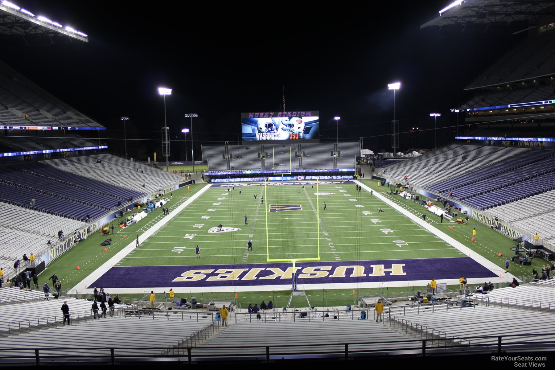 Seat View for Husky Stadium Section 218, Row 8