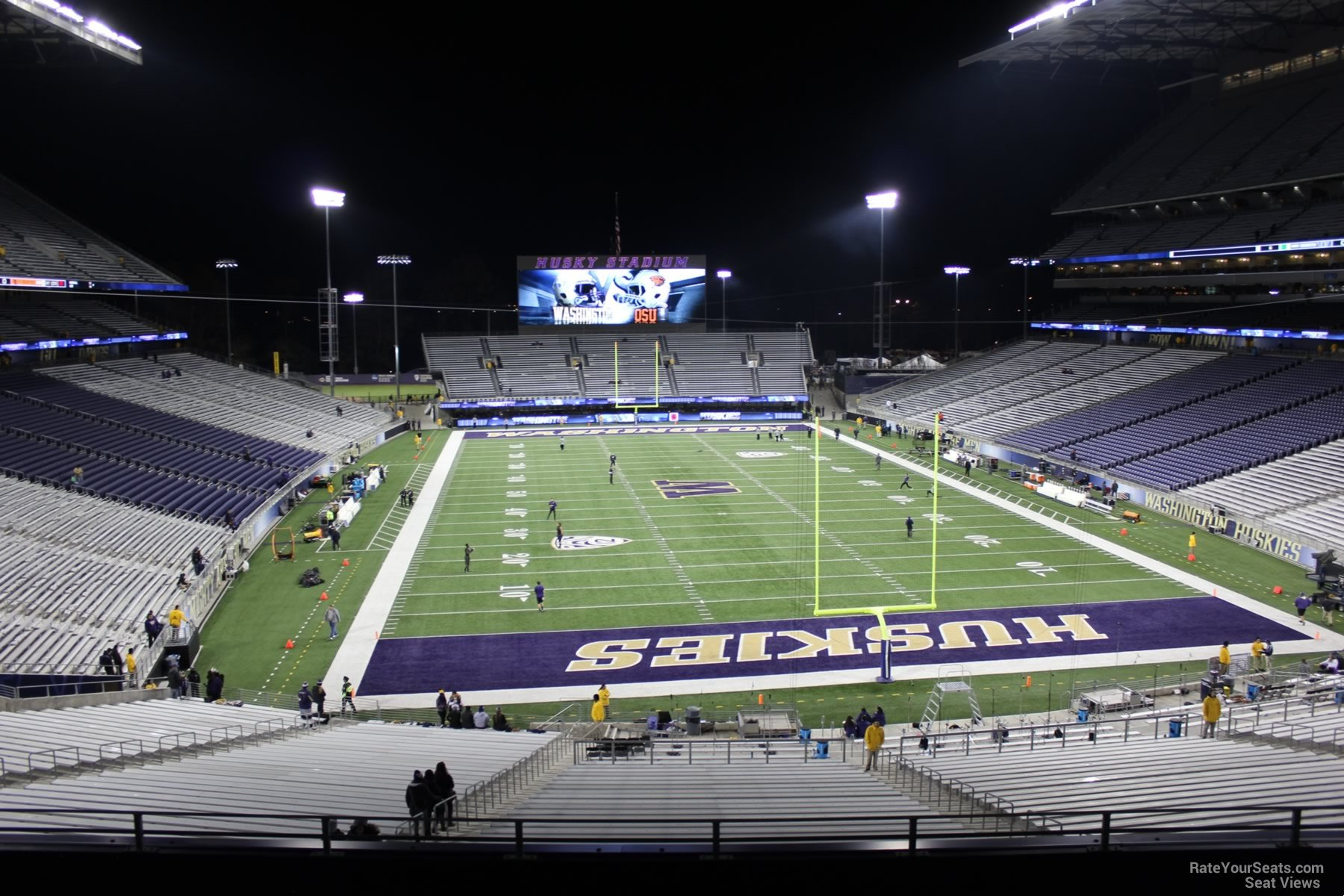 Seat View for Husky Stadium Section 219, Row 8