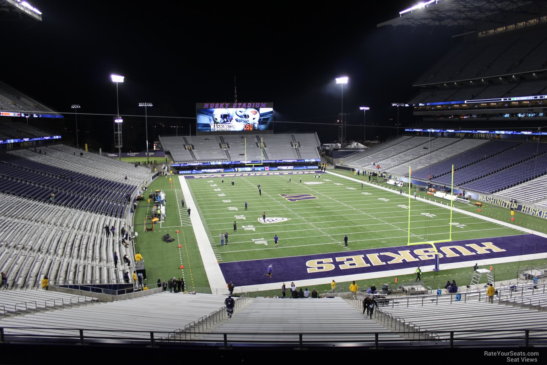 Seat View for Husky Stadium Section 220, Row 8