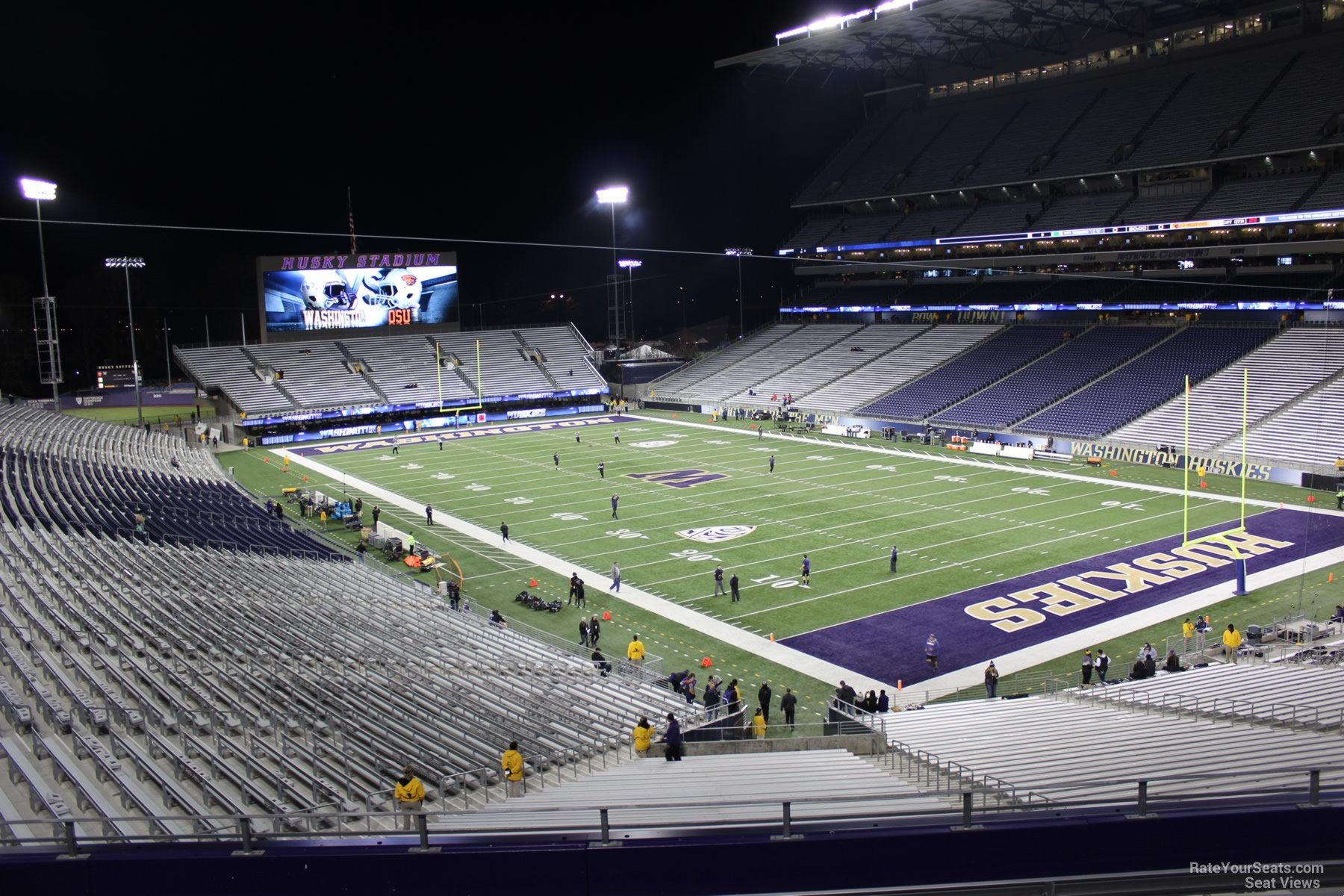 Seat View for Husky Stadium Section 222, Row 8