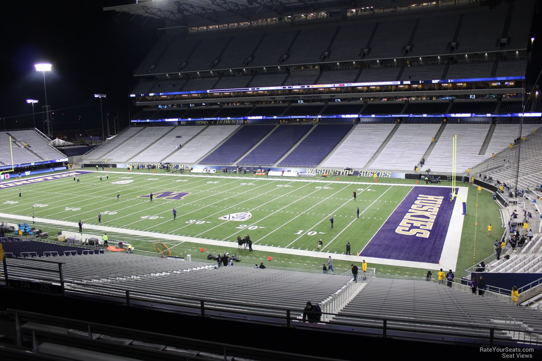 Seat View for Husky Stadium Section 225, Row 8