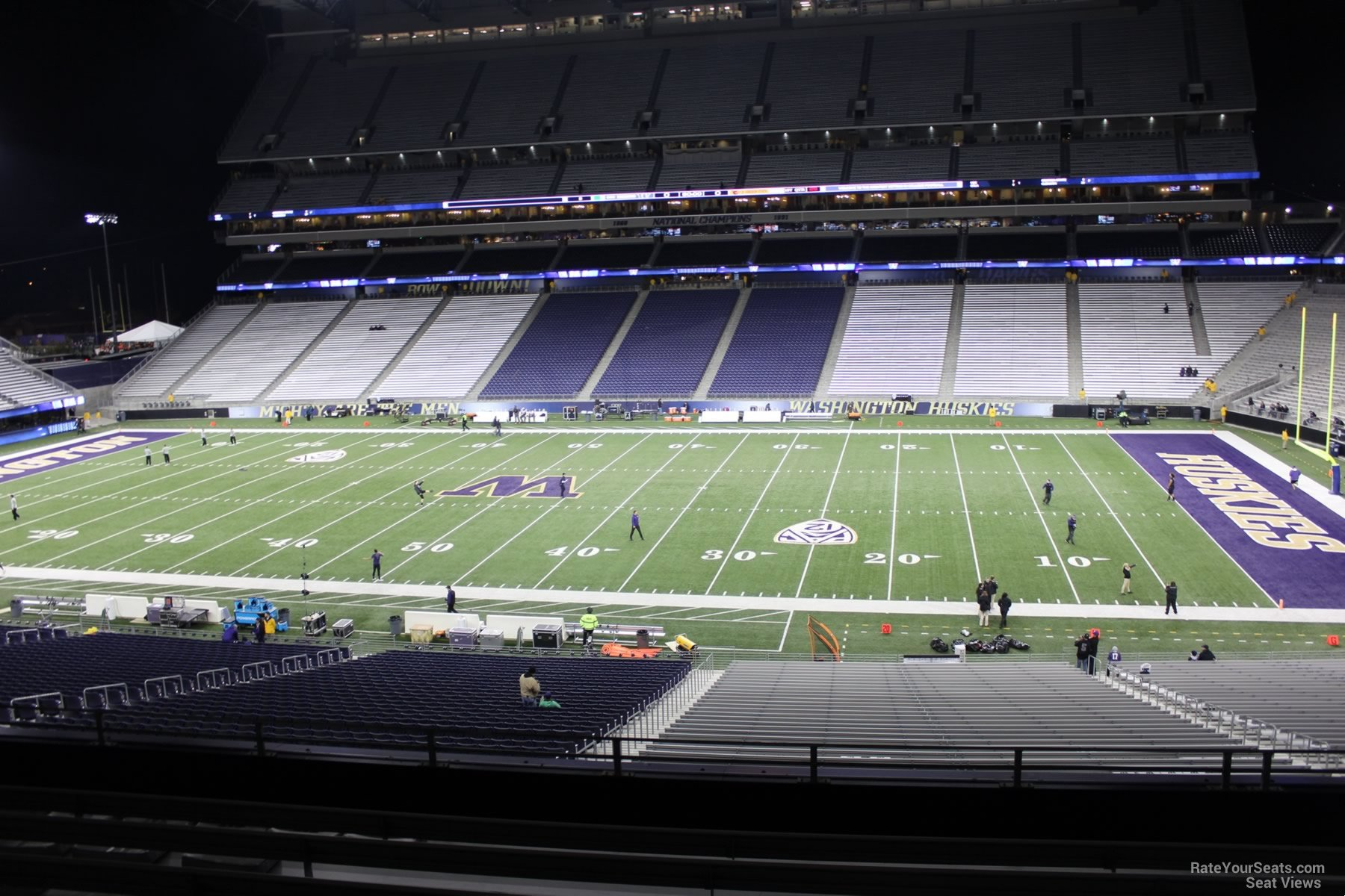 Seat View for Husky Stadium Section 227, Row 8