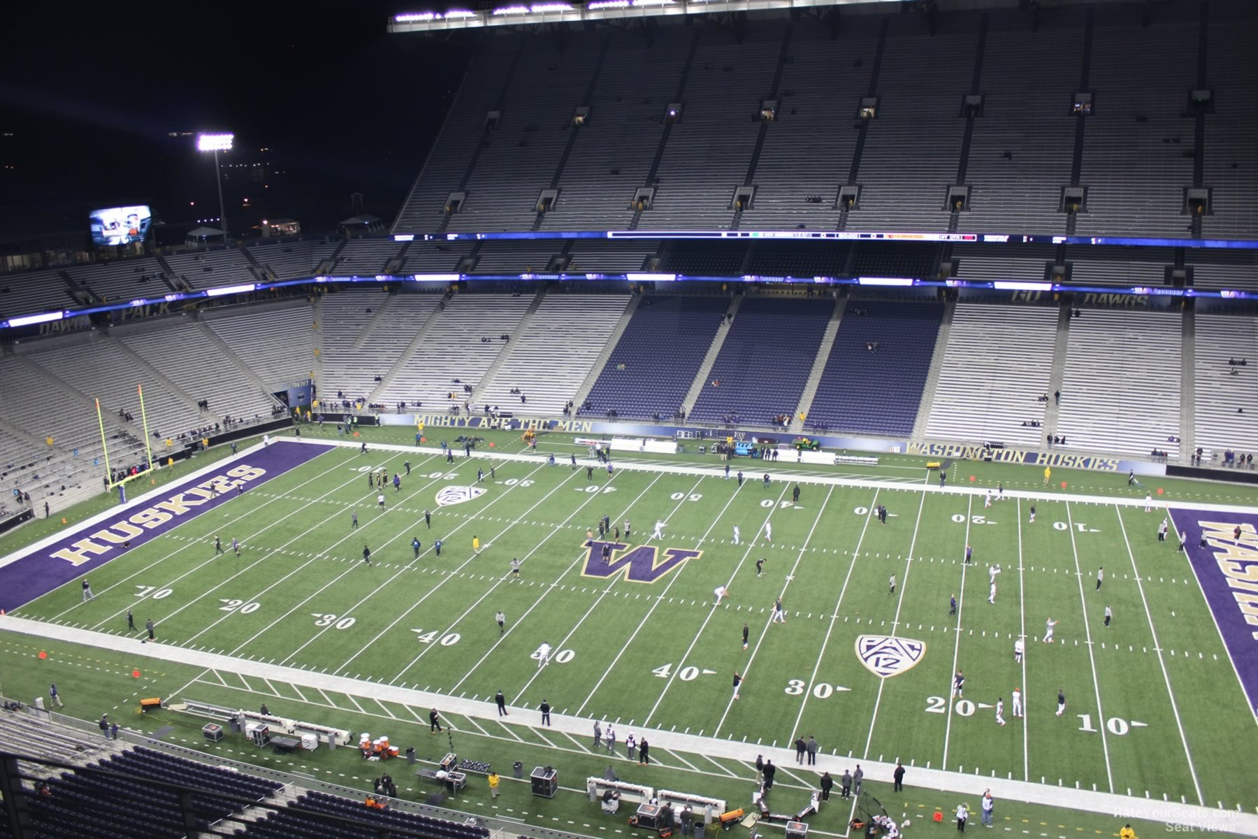 Seat View for Husky Stadium Section 304, Row 15