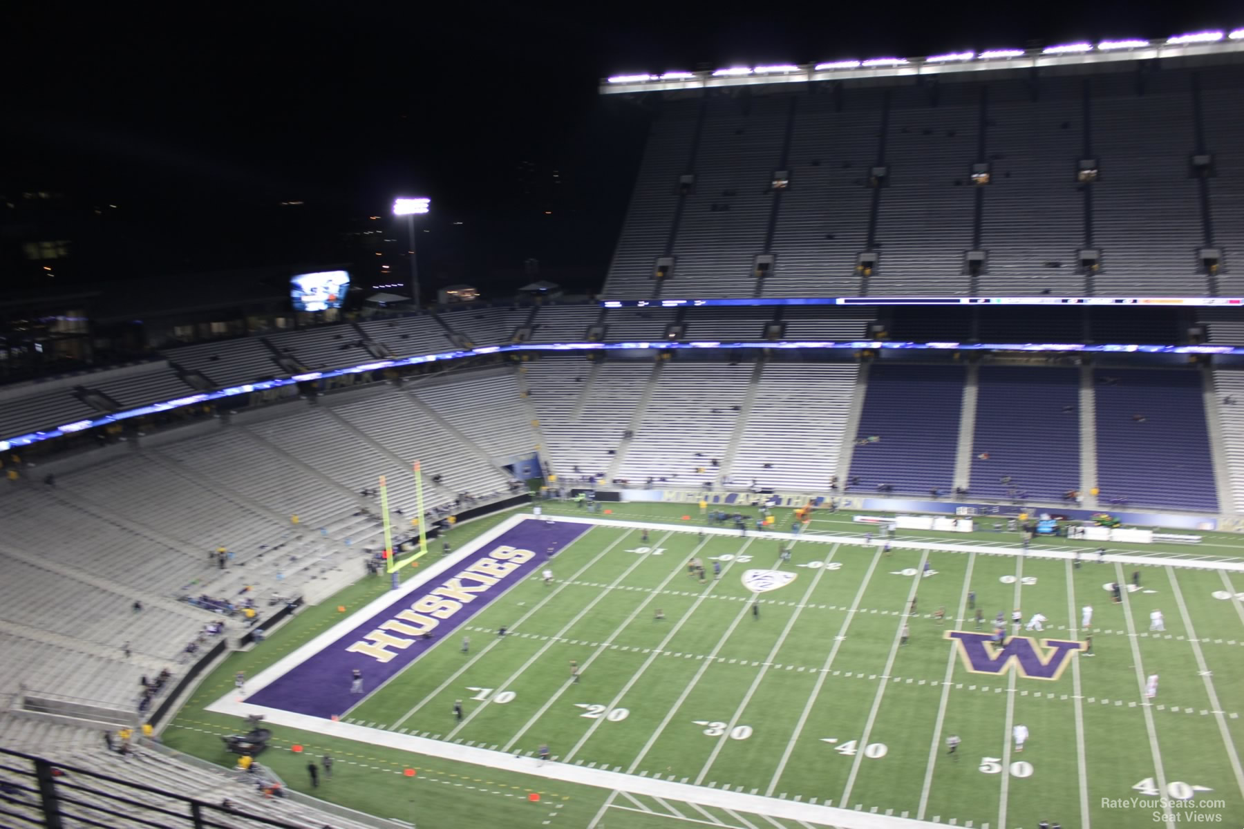 Seat View for Husky Stadium Section 306, Row 15