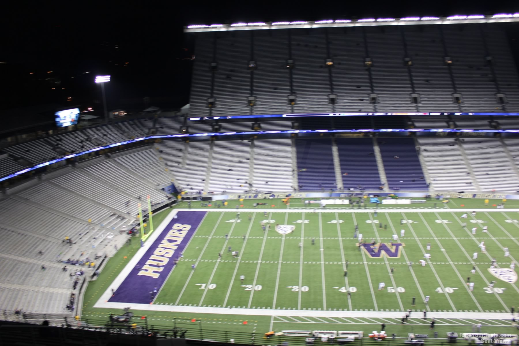 Seat View for Husky Stadium Section 307, Row 30