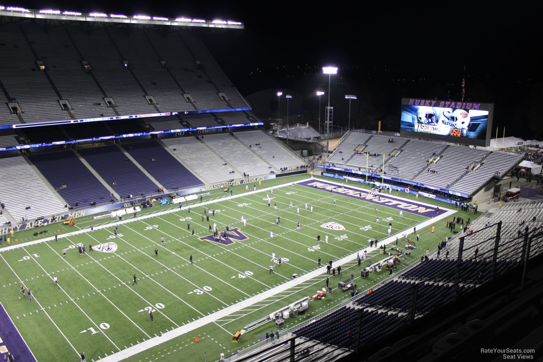 Seat View for Husky Stadium Section 310, Row 15