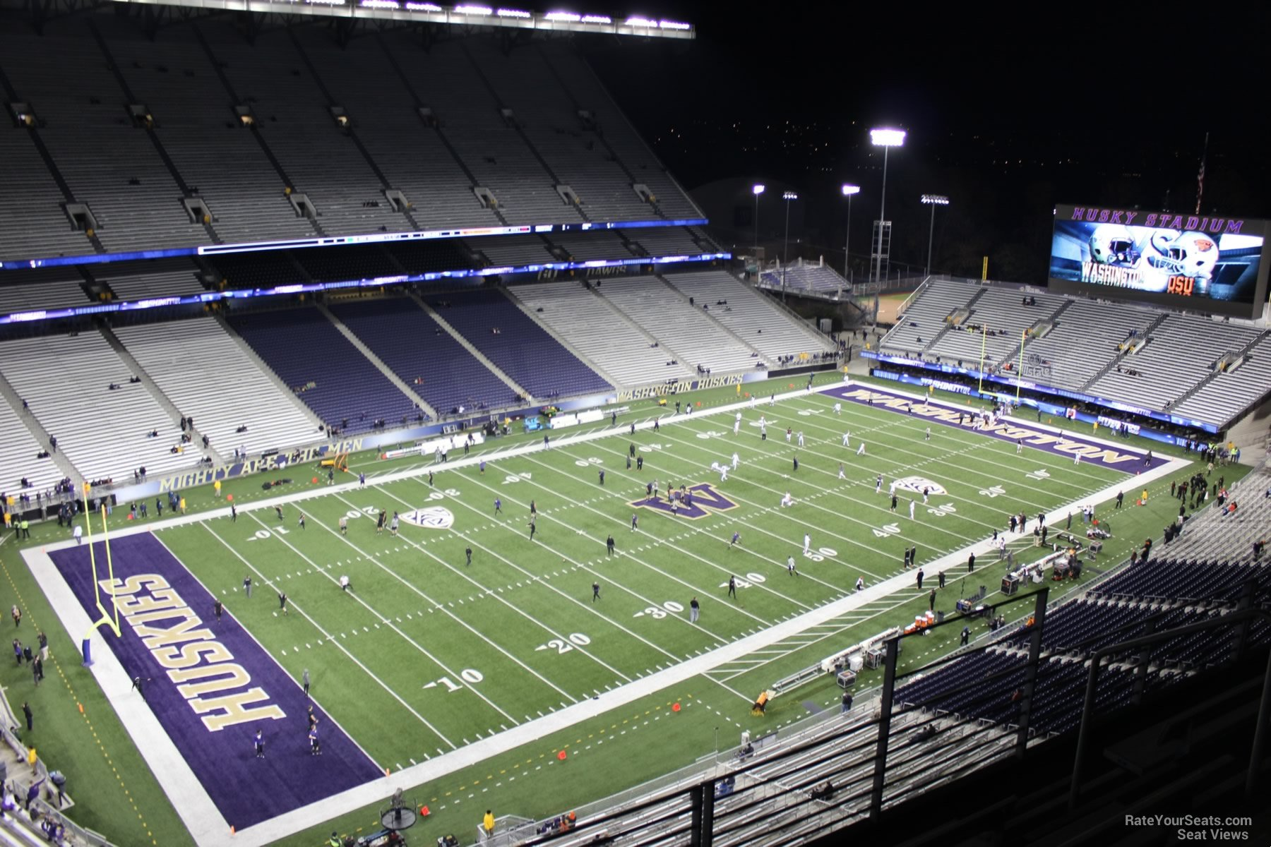 Seat View for Husky Stadium Section 311, Row 15