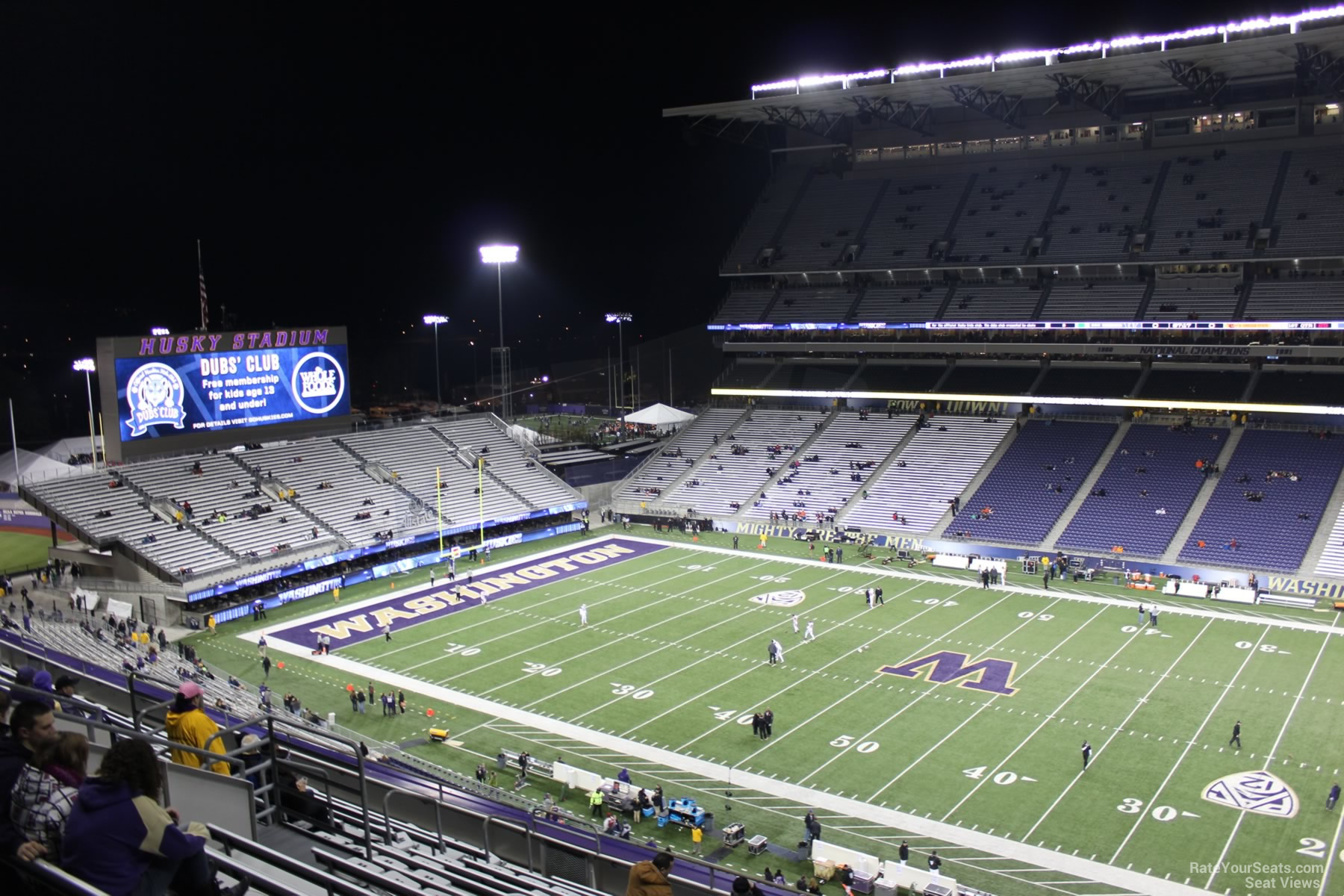 Seat View for Husky Stadium Section 327, Row 15