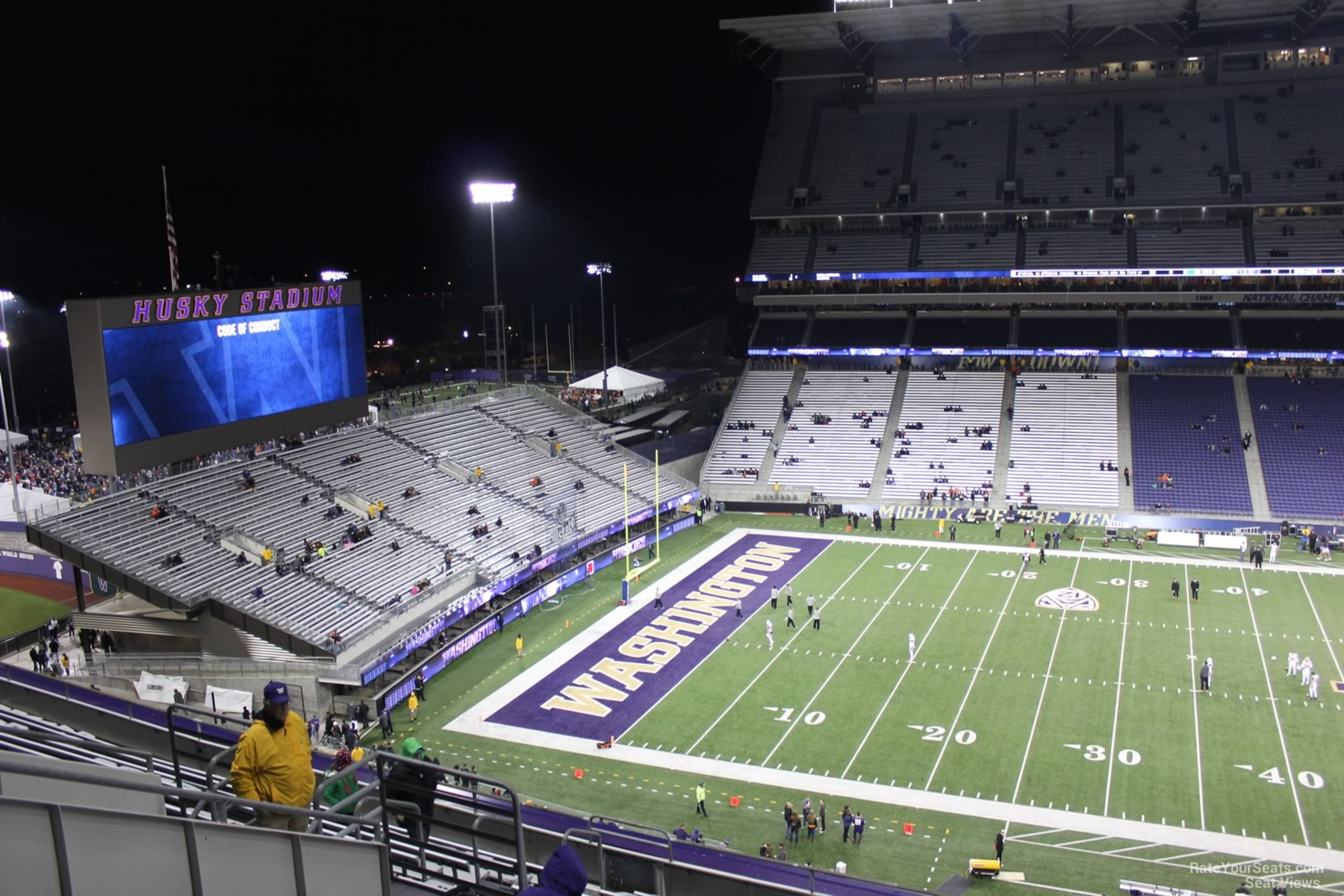Seat View for Husky Stadium Section 330, Row 15