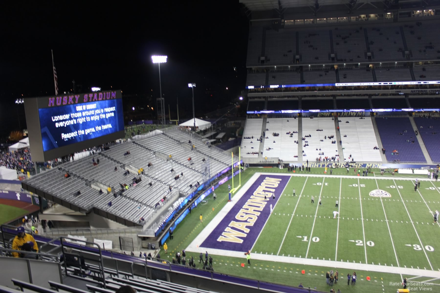Seat View for Husky Stadium Section 331, Row 15