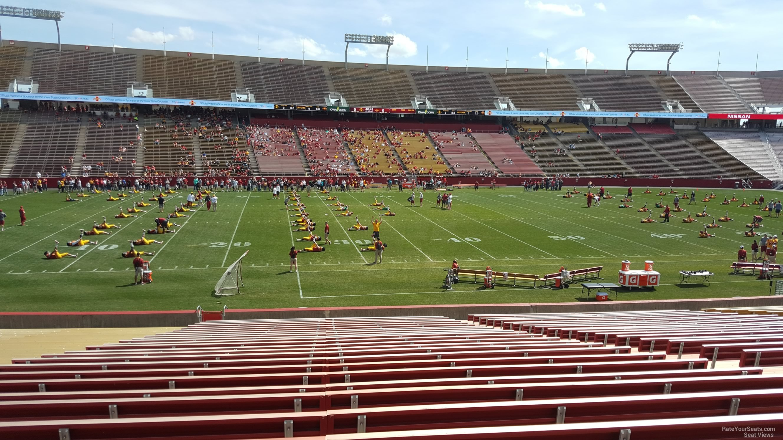 Seat View for Jack Trice Stadium Section 6, Row 30