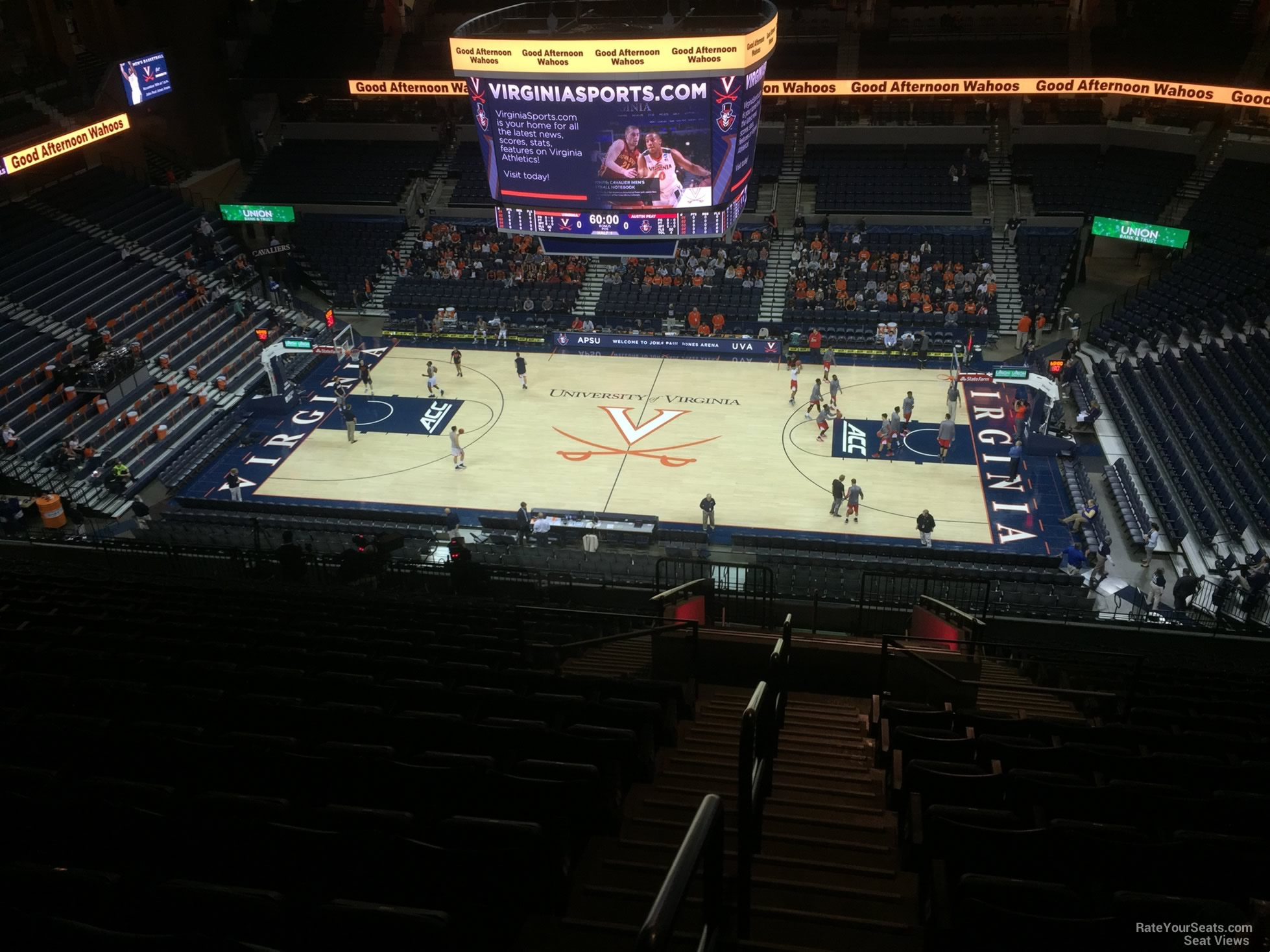 Section 312 seat view