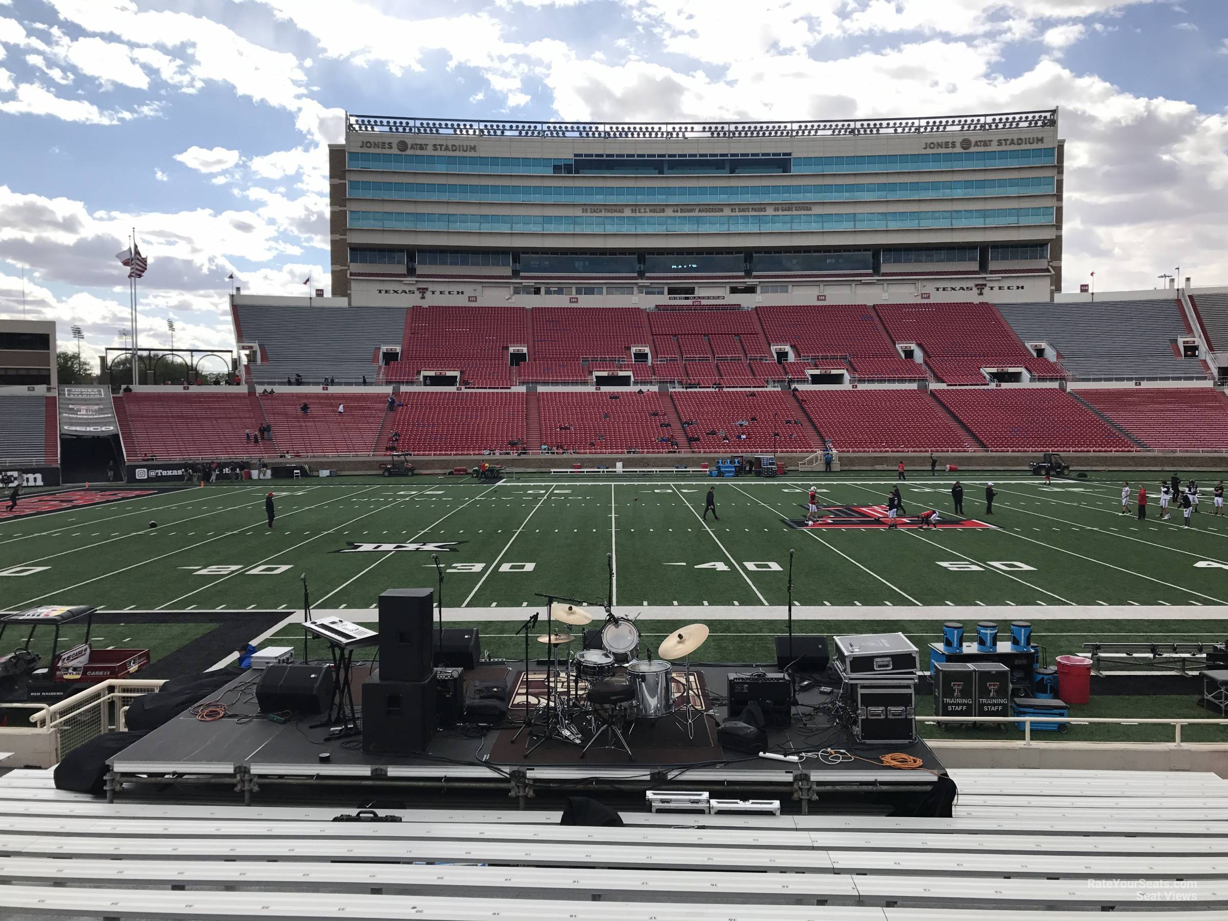 Seat View for Jones AT&T Stadium Section 20, Row 18