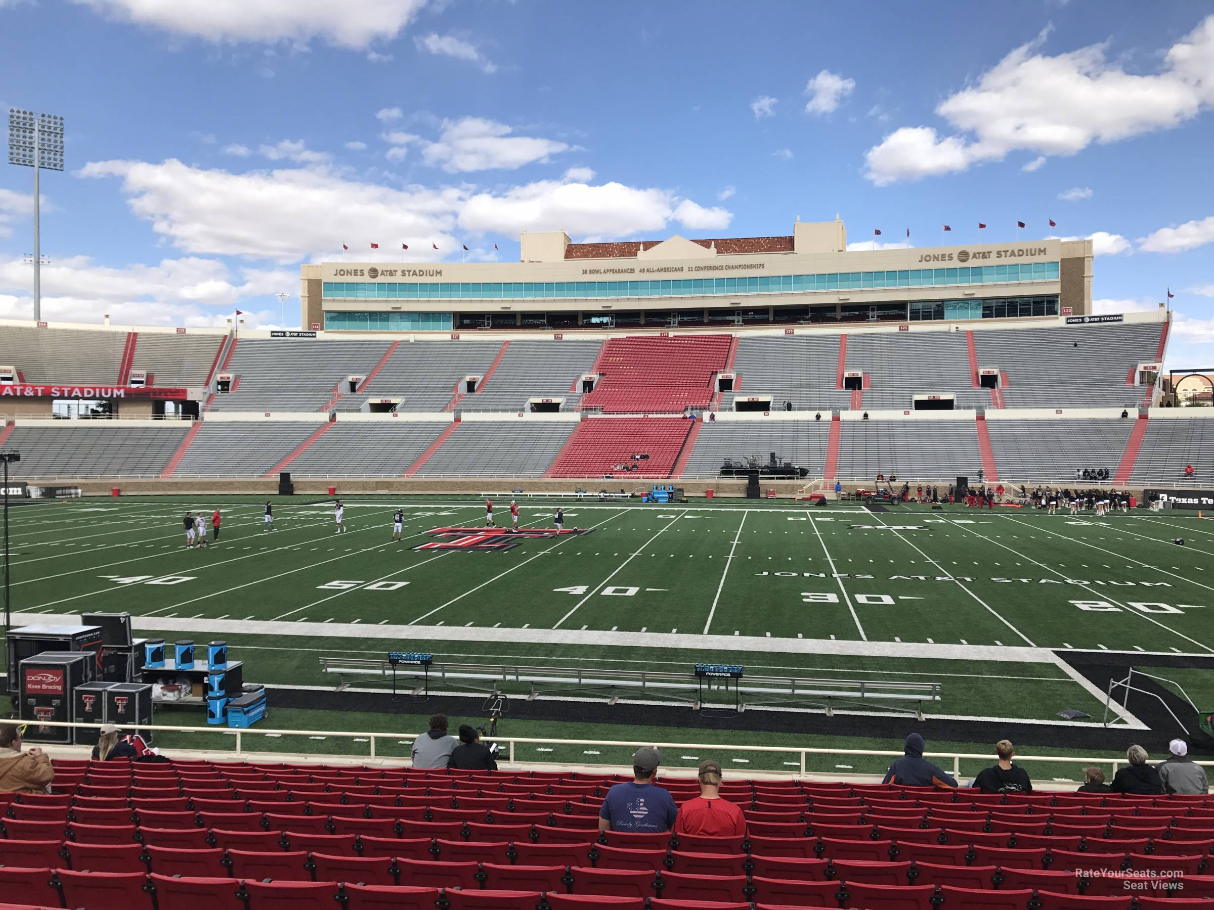 Seat View for Jones AT&T Stadium Section 4, Row 18