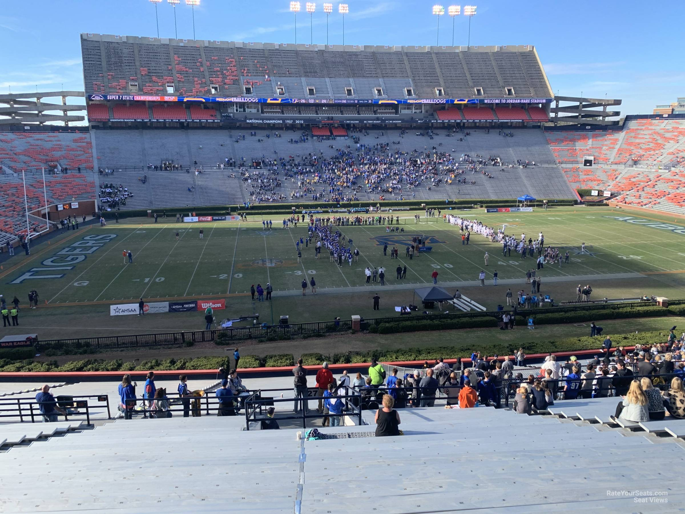 Section 27 seat view