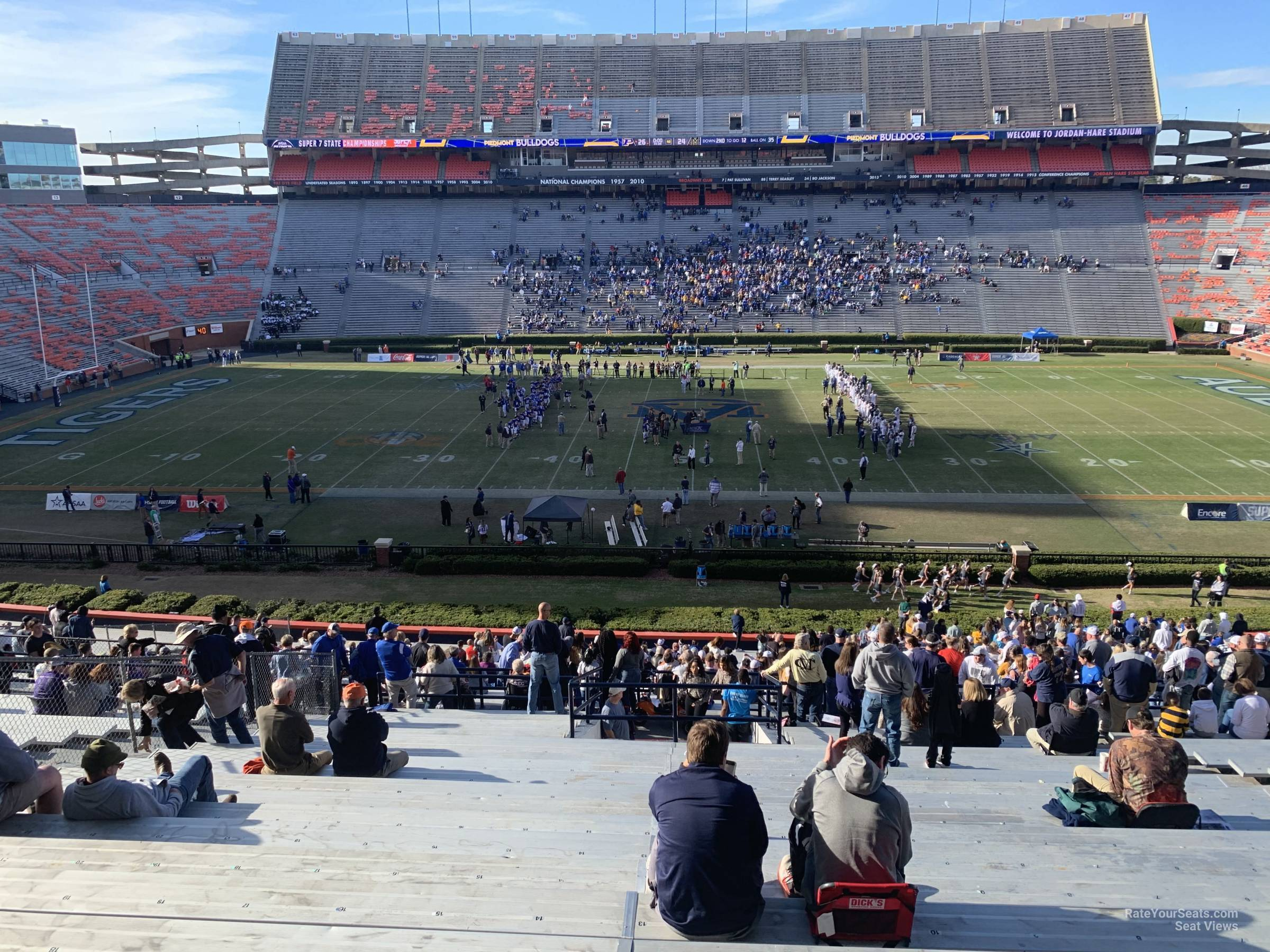 Section 29 seat view