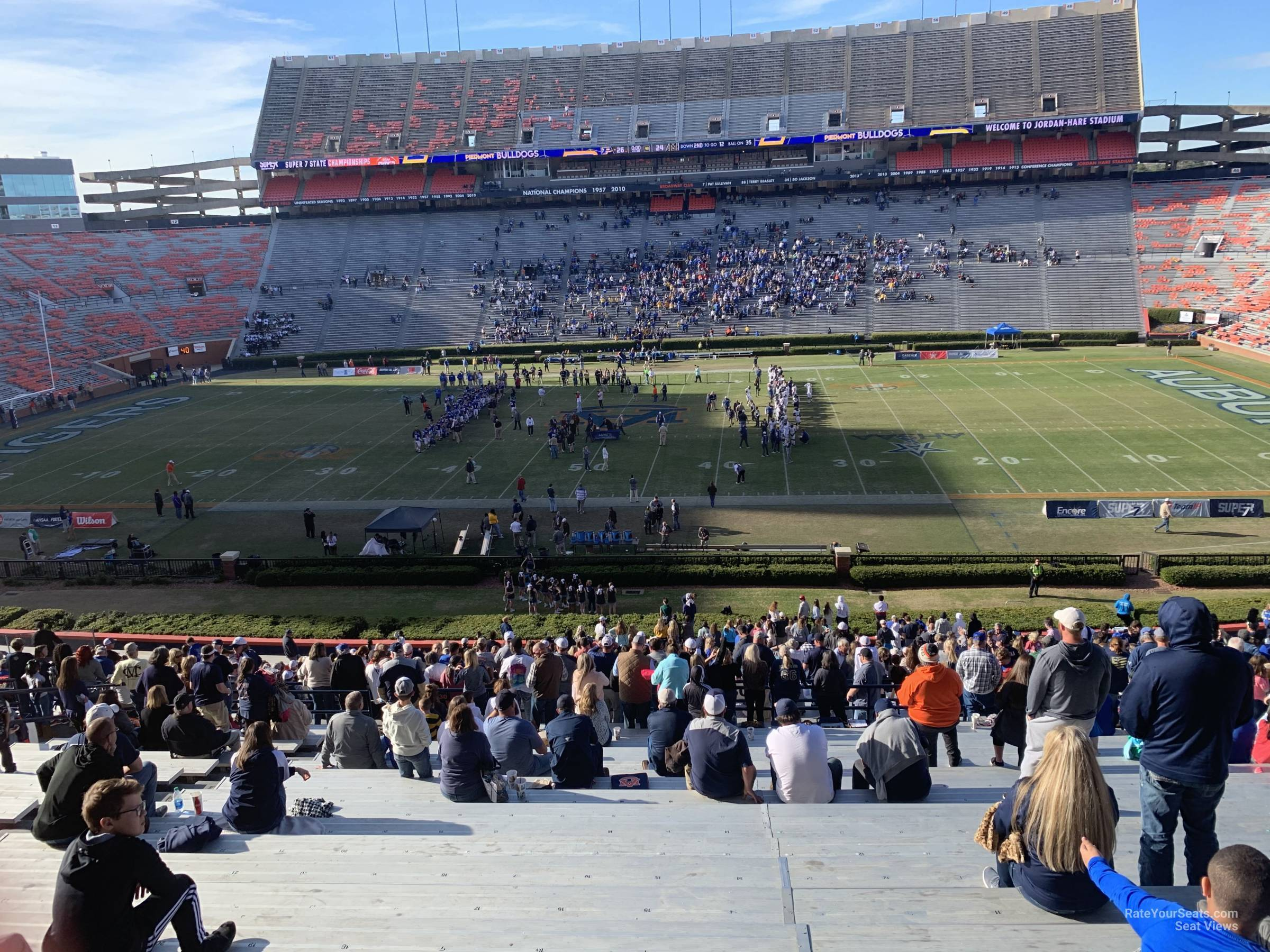 Section 30 seat view