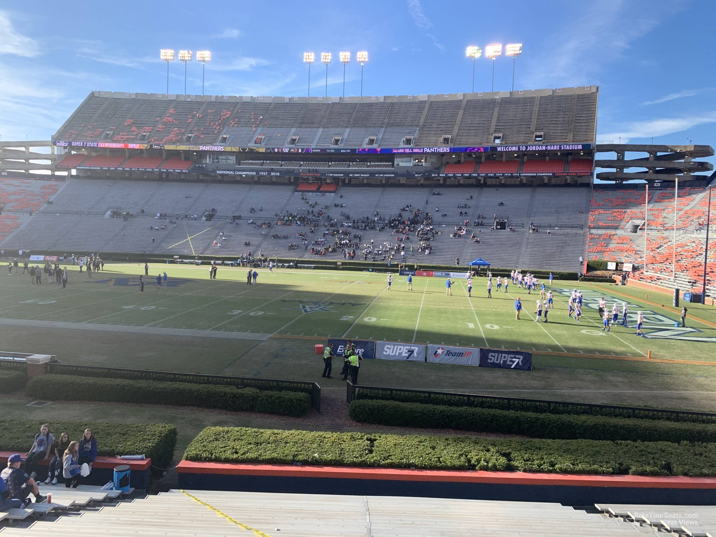 Section 32 seat view